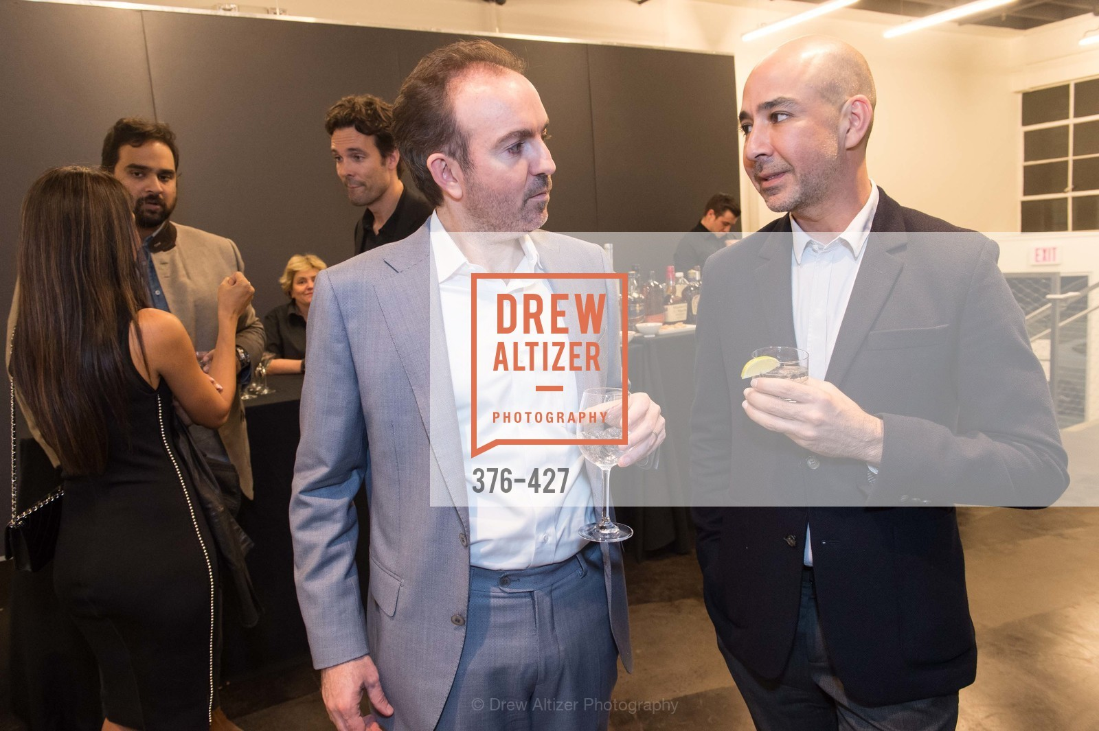 Sebastian Cwilich, Adrian Rosenfeld, Artsy and Sotheby's Dinner at Fused, Fused, October 29th, 2015,Drew Altizer, Drew Altizer Photography, full-service agency, private events, San Francisco photographer, photographer california