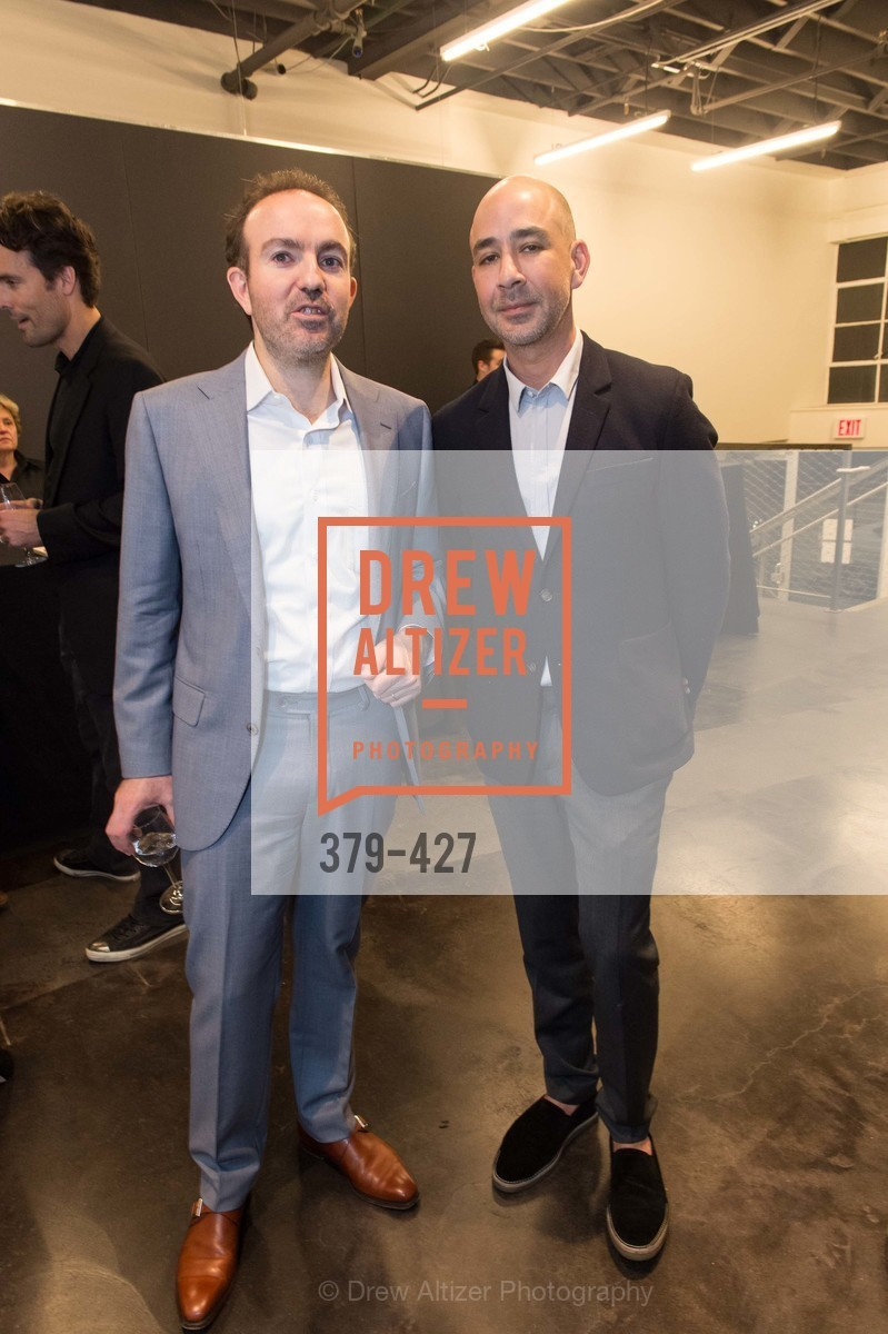 Sebastian Cwilich, Adrian Rosenfeld, Artsy and Sotheby's Dinner at Fused, Fused, October 29th, 2015,Drew Altizer, Drew Altizer Photography, full-service event agency, private events, San Francisco photographer, photographer California