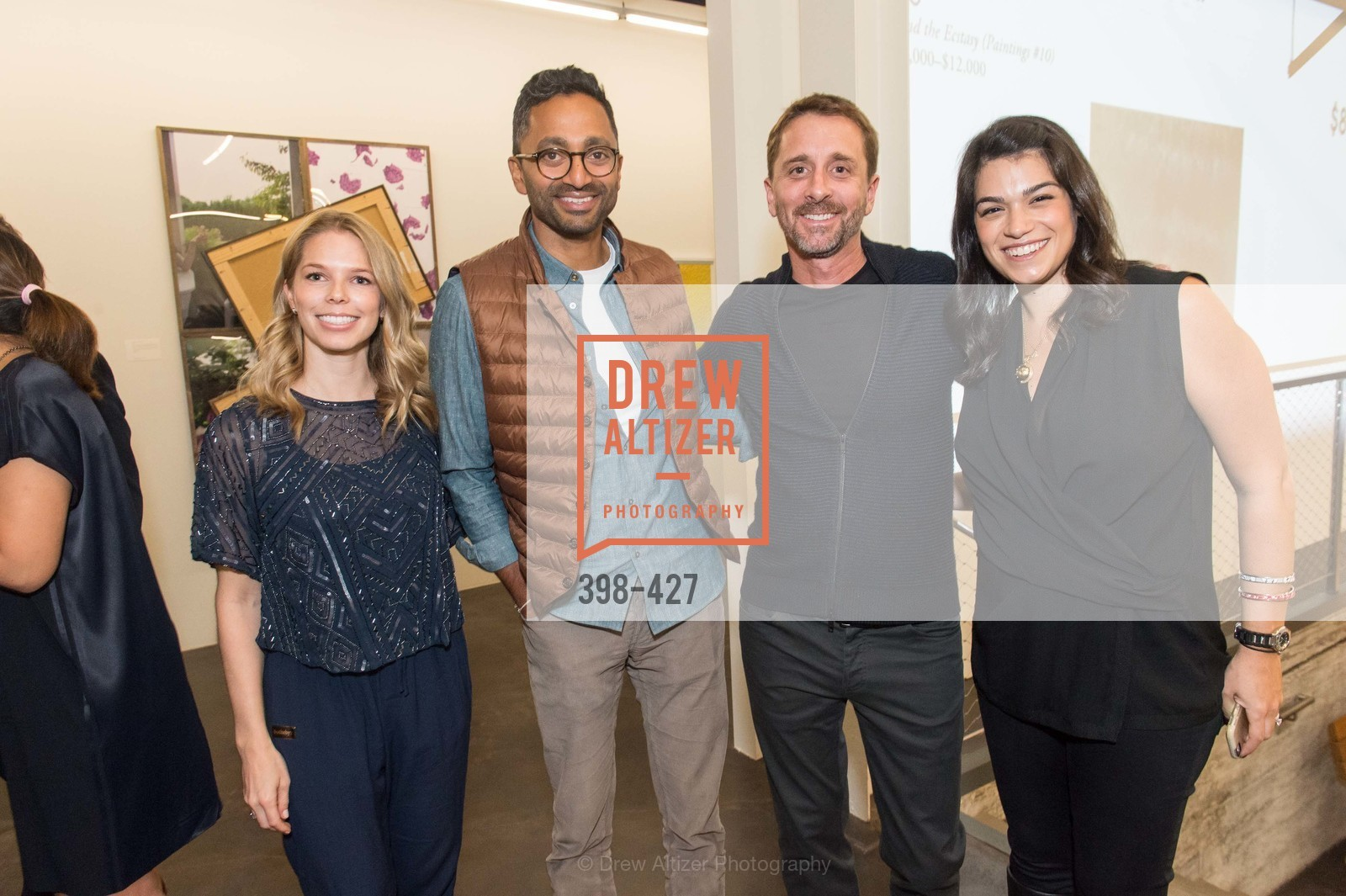 Courtney Kremers, Chamath Talihapitiy, Sky Dayton, Rebecca Rathael, Artsy and Sotheby's Dinner at Fused, Fused, October 29th, 2015,Drew Altizer, Drew Altizer Photography, full-service agency, private events, San Francisco photographer, photographer california