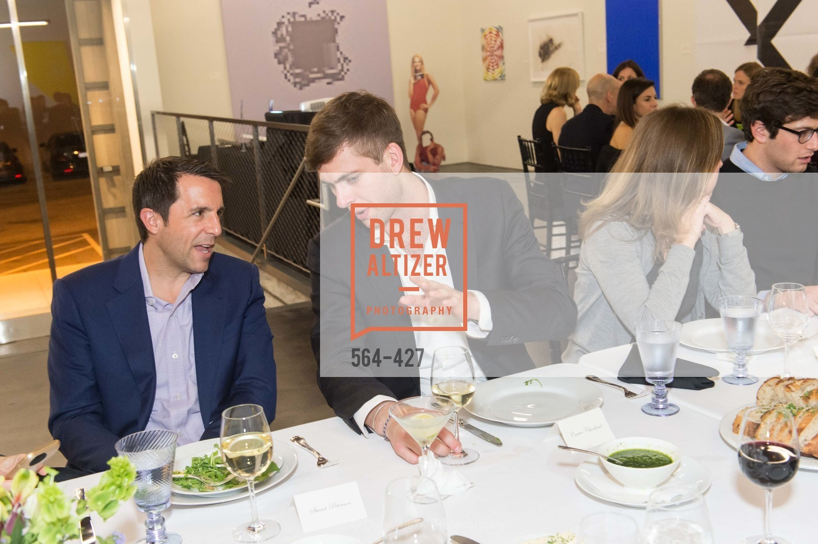 Stuart Peterson, Carter Cleveland, Artsy and Sotheby's Dinner at Fused, Fused, October 29th, 2015,Drew Altizer, Drew Altizer Photography, full-service event agency, private events, San Francisco photographer, photographer California