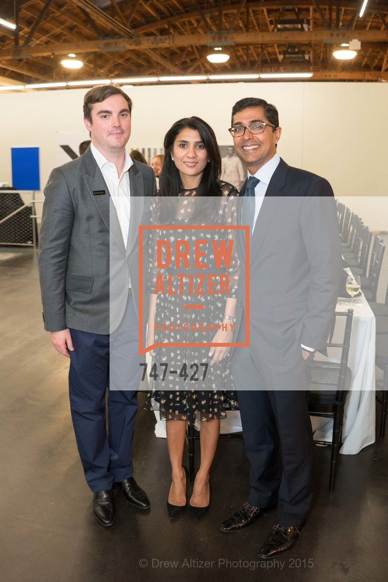 Cahrles Moffett, Alka Agrawal, Ravin Agrawal, Artsy and Sotheby's Dinner at Fused, Fused, October 29th, 2015,Drew Altizer, Drew Altizer Photography, full-service agency, private events, San Francisco photographer, photographer california