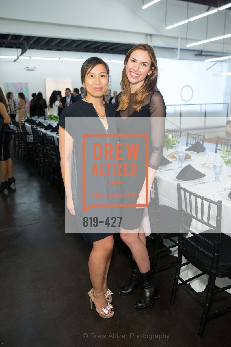 Brigiette Lau, Felicity Conrad, Artsy and Sotheby's Dinner at Fused, Fused, October 29th, 2015
