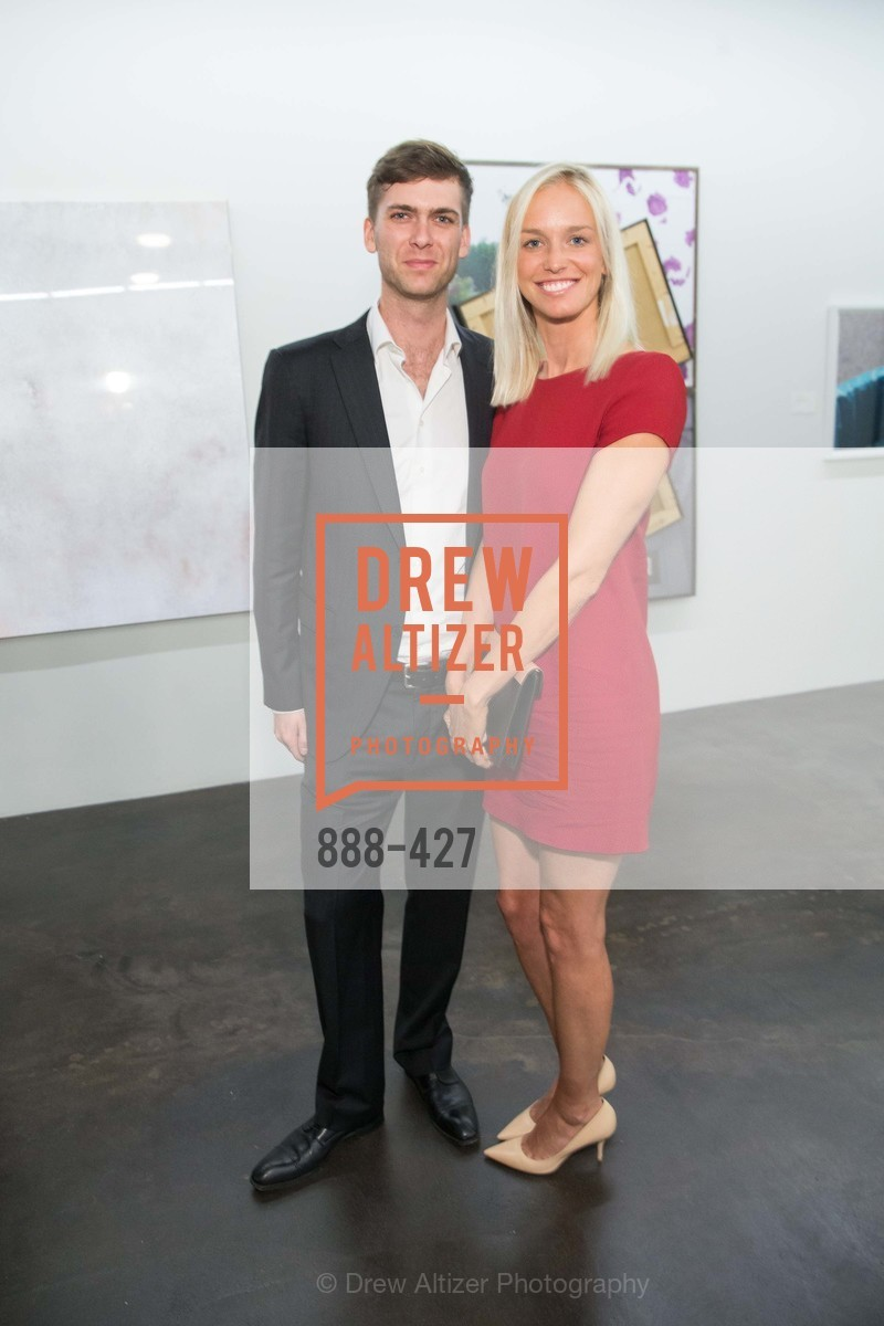 Carter Cleveland, Lucy Page, Artsy and Sotheby's Dinner at Fused, Fused, October 29th, 2015