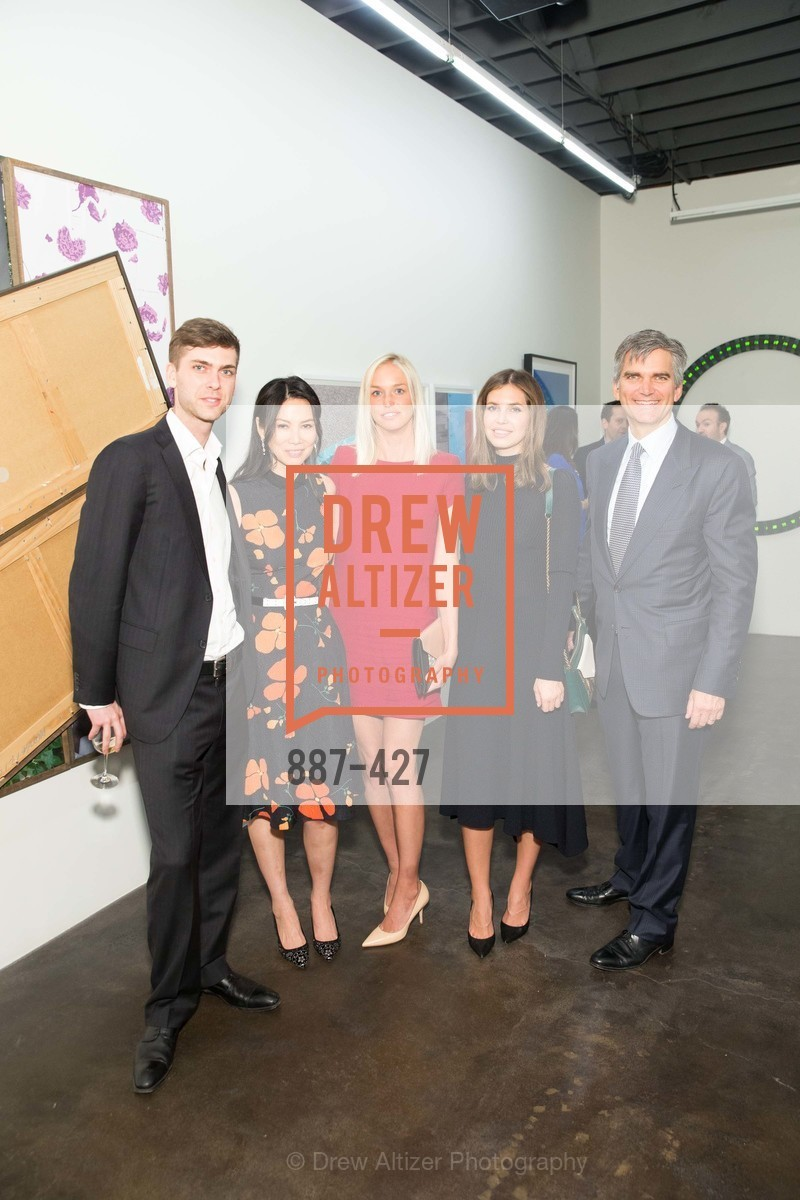 Carter Cleveland, Wenid Murdoch, Lucy Page, Dasha Zhukova, Tad Smith, Artsy and Sotheby's Dinner at Fused, Fused, October 29th, 2015,Drew Altizer, Drew Altizer Photography, full-service agency, private events, San Francisco photographer, photographer california