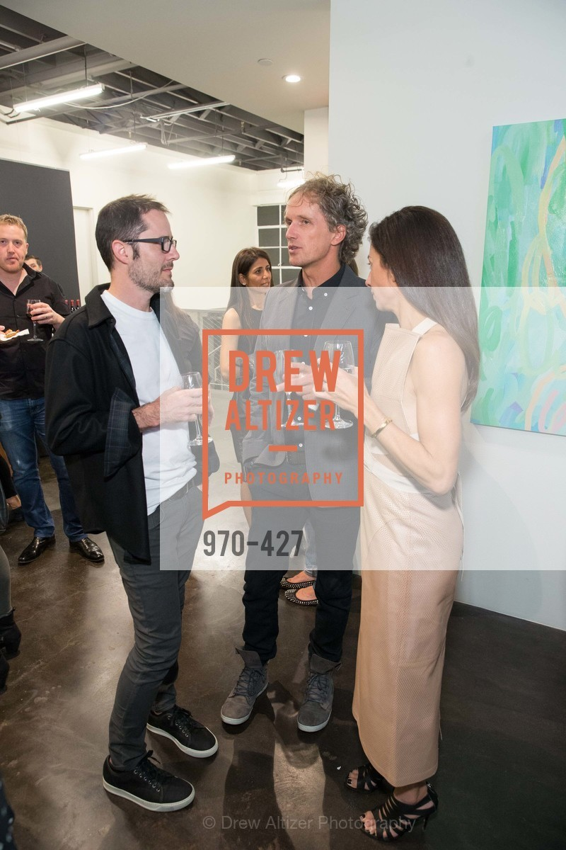 Evan Williams, Yves Behar, Sabrina Buell, Artsy and Sotheby's Dinner at Fused, Fused, October 29th, 2015,Drew Altizer, Drew Altizer Photography, full-service agency, private events, San Francisco photographer, photographer california