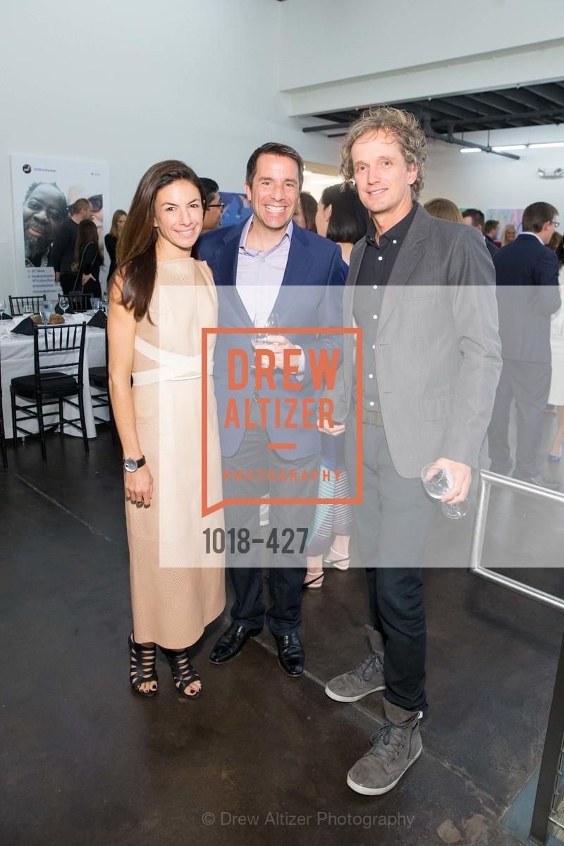 Sabrina Buell, Stuart Peterson, Yves Behar, Artsy and Sotheby's Dinner at Fused, Fused, October 29th, 2015,Drew Altizer, Drew Altizer Photography, full-service agency, private events, San Francisco photographer, photographer california