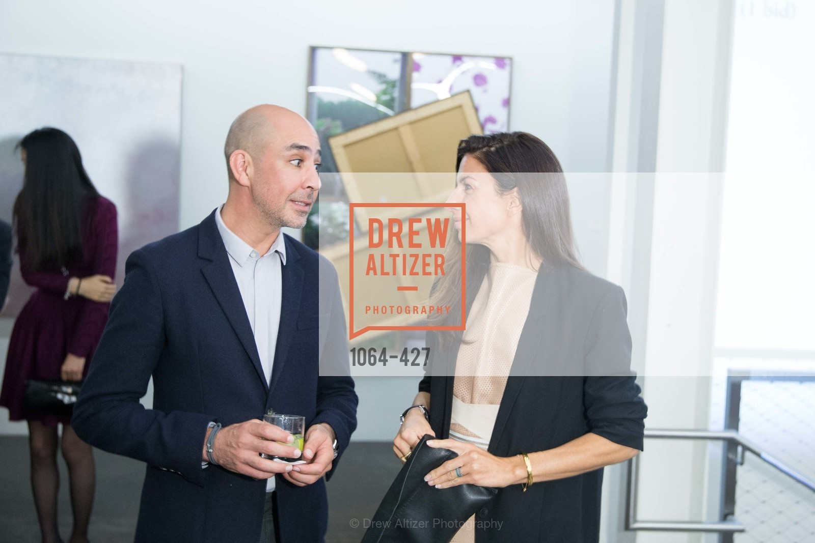 Adrian Rosenfeld, Sabrina Buell, Artsy and Sotheby's Dinner at Fused, Fused, October 29th, 2015,Drew Altizer, Drew Altizer Photography, full-service agency, private events, San Francisco photographer, photographer california