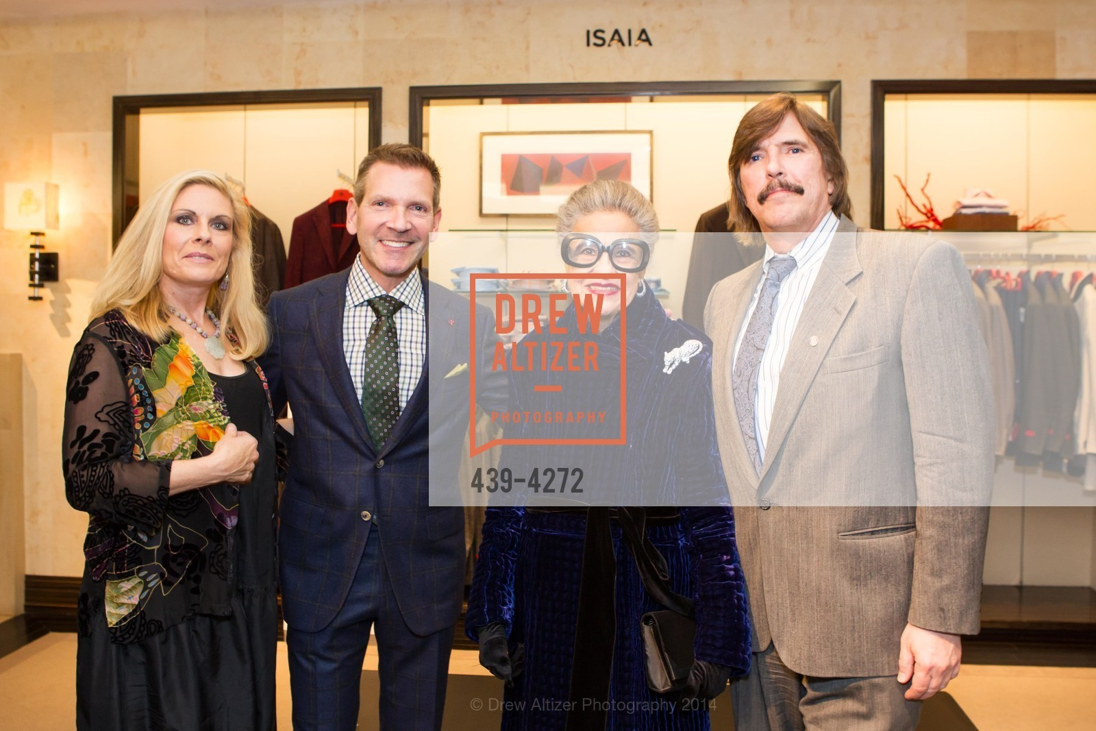 Jacqueline Jacoby, Eric Petsinger, Joy Venturini Bianchi, John Rosin, Photo #439-4272