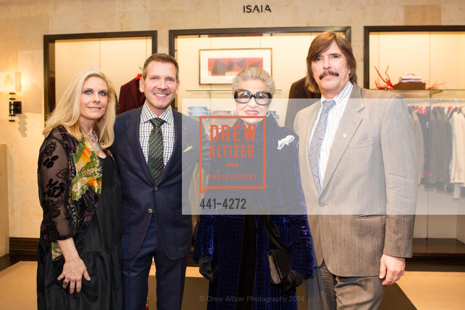 Jacqueline Jacoby, Eric Petsinger, Joy Venturini Bianchi, John Rosin, Photo #441-4272