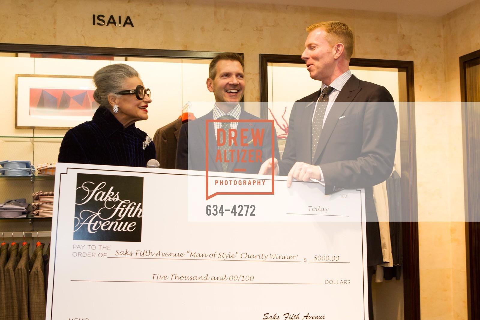 Joy Venturini Bianchi, Eric Petsinger, Randy Moore, Photo #634-4272