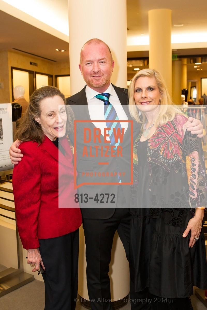 Doris Tumey, Terje Arnesen, Jacqueline Jacoby, Photo #813-4272