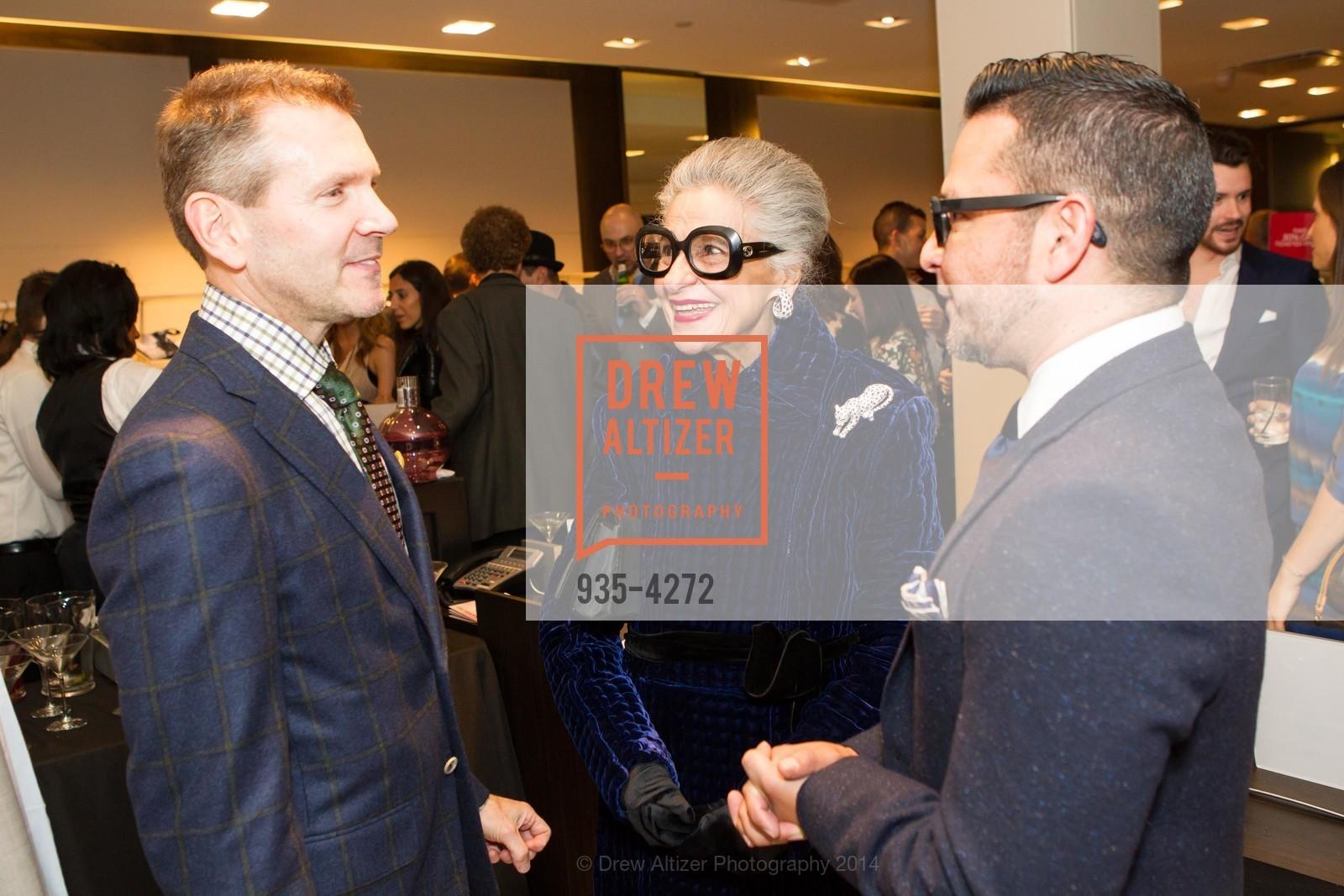 Eric Petsinger, Joy Venturini Bianchi, Rodrigo Rivas, Photo #935-4272