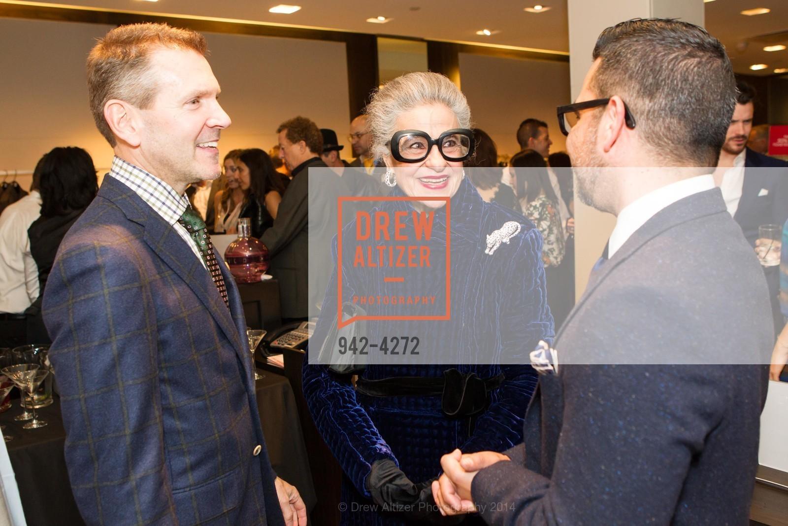 Eric Petsinger, Joy Venturini Bianchi, Rodrigo Rivas, Photo #942-4272