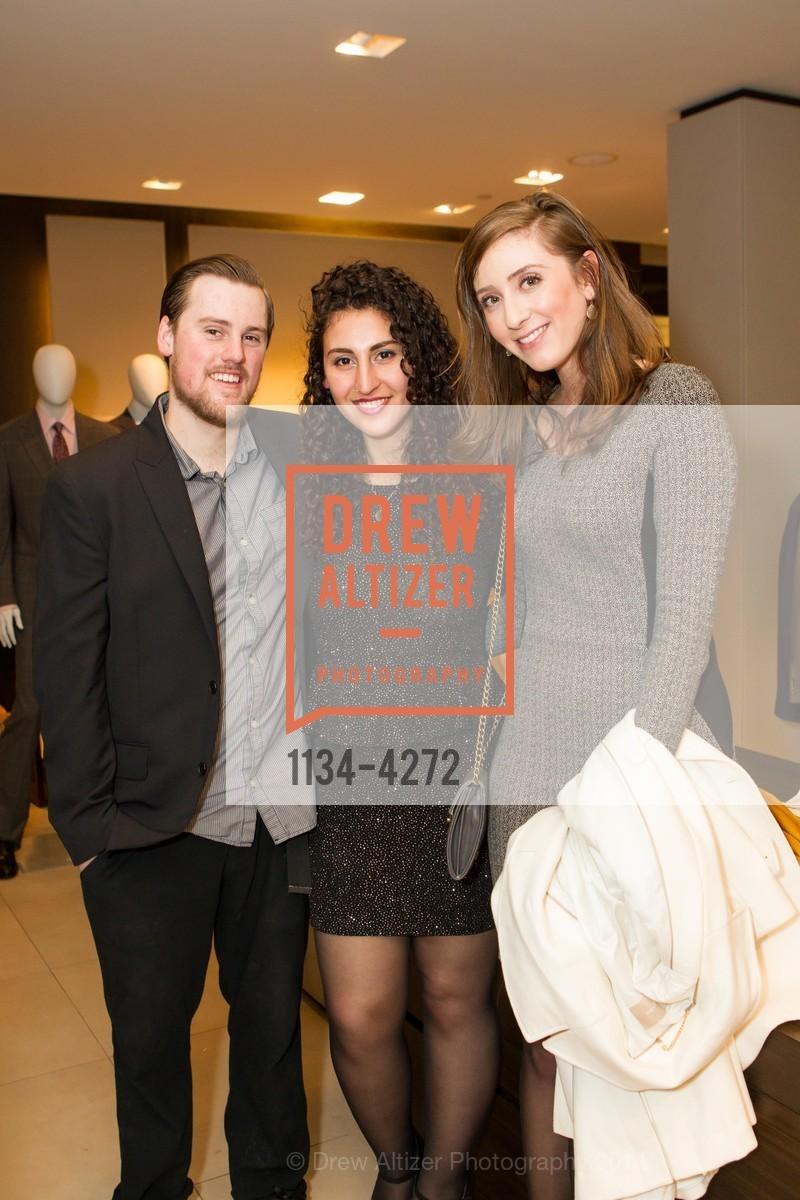 Chase Klein, Tori Vourakova, Alisa Shaheen, Photo #1134-4272
