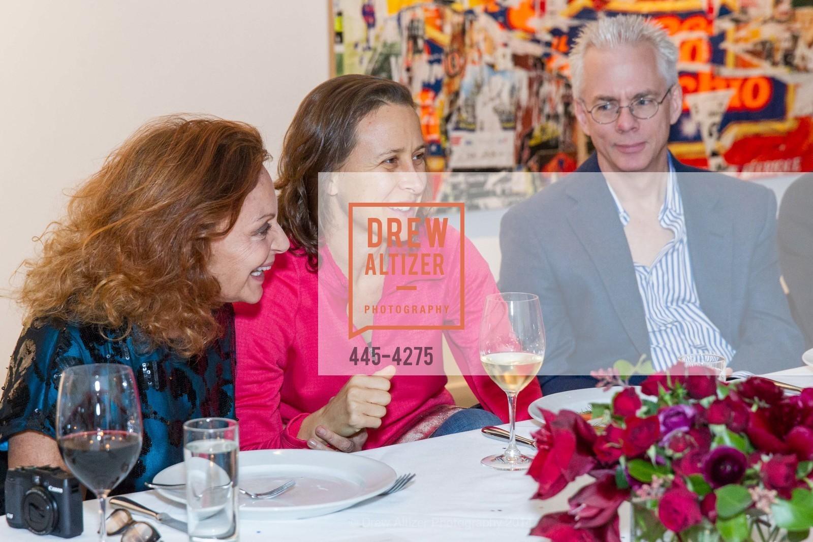 Diane von Furstenberg, Anne Wojcicki, Photo #445-4275