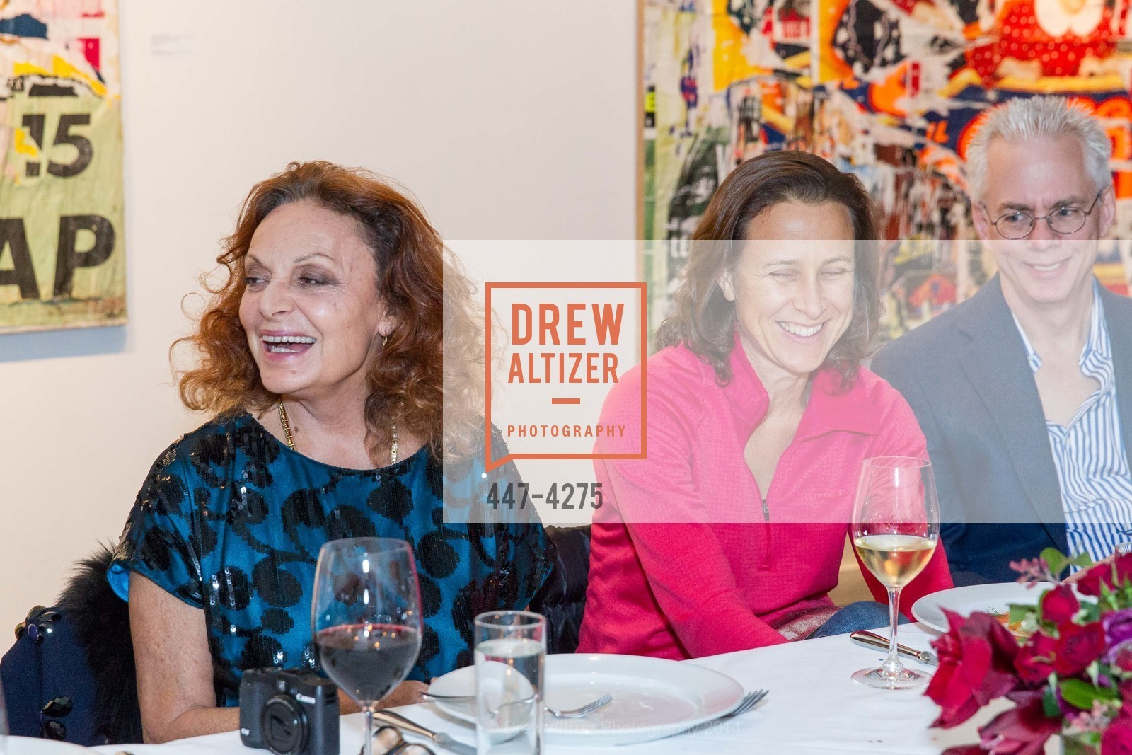 Diane von Furstenberg, Anne Wojcicki, Photo #447-4275