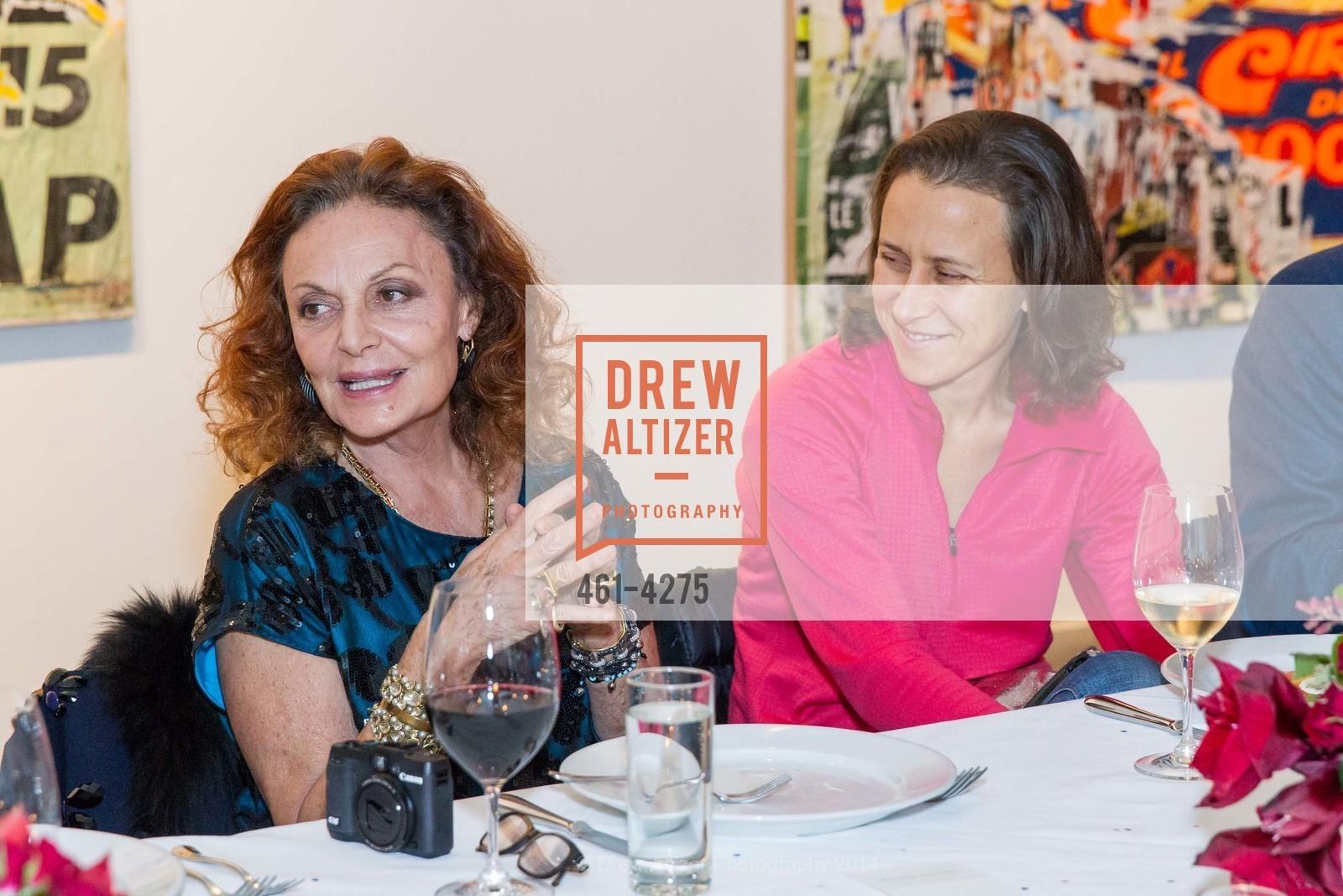 Diane von Furstenberg, Anne Wojcicki, Photo #461-4275