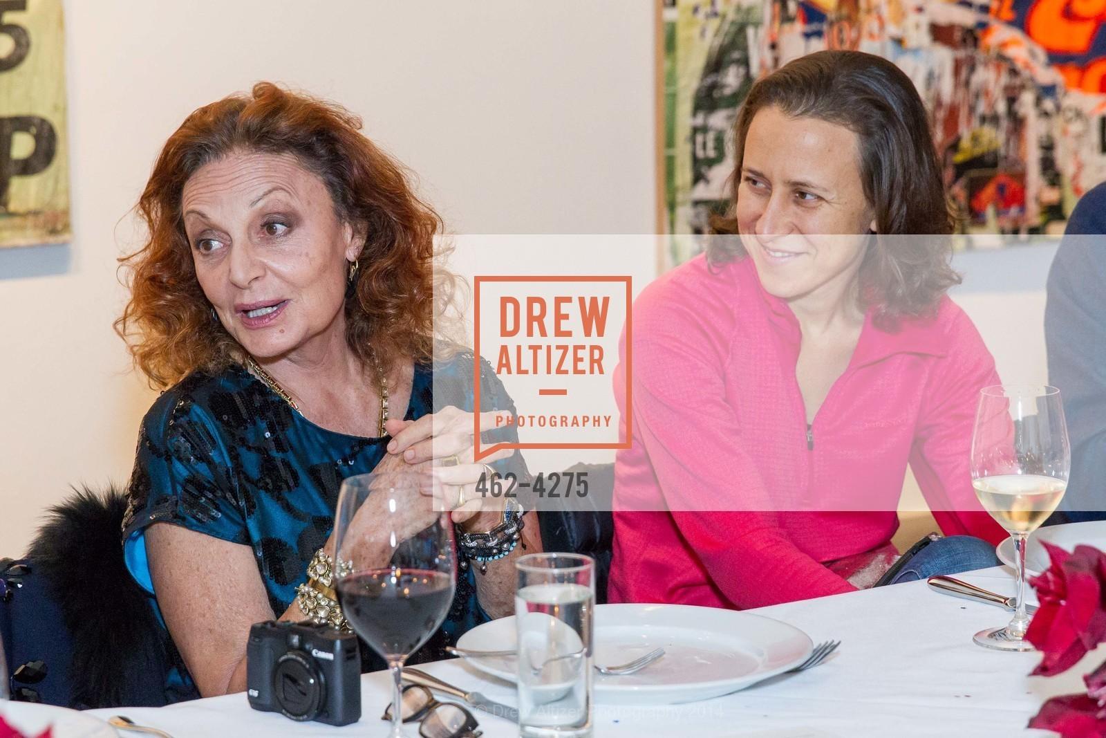 Diane von Furstenberg, Anne Wojcicki, Photo #462-4275