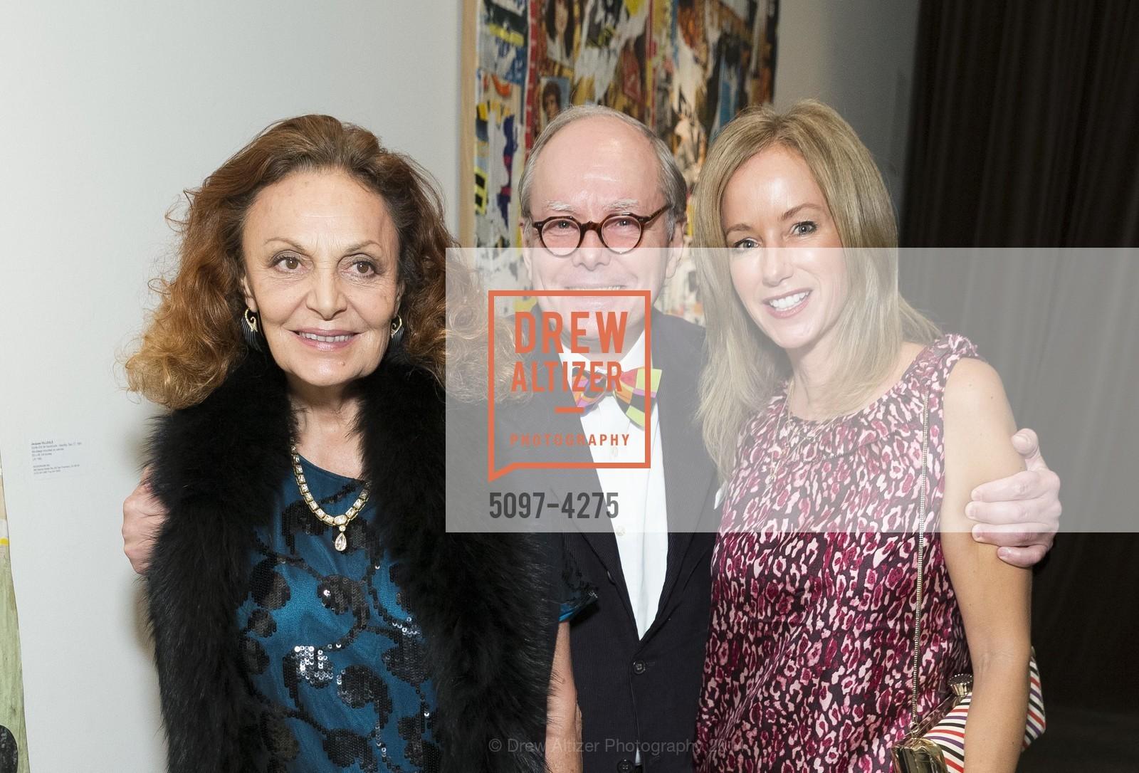 Diane von Furstenberg, Martin Wheeler, Julian Guthrie, Photo #5097-4275