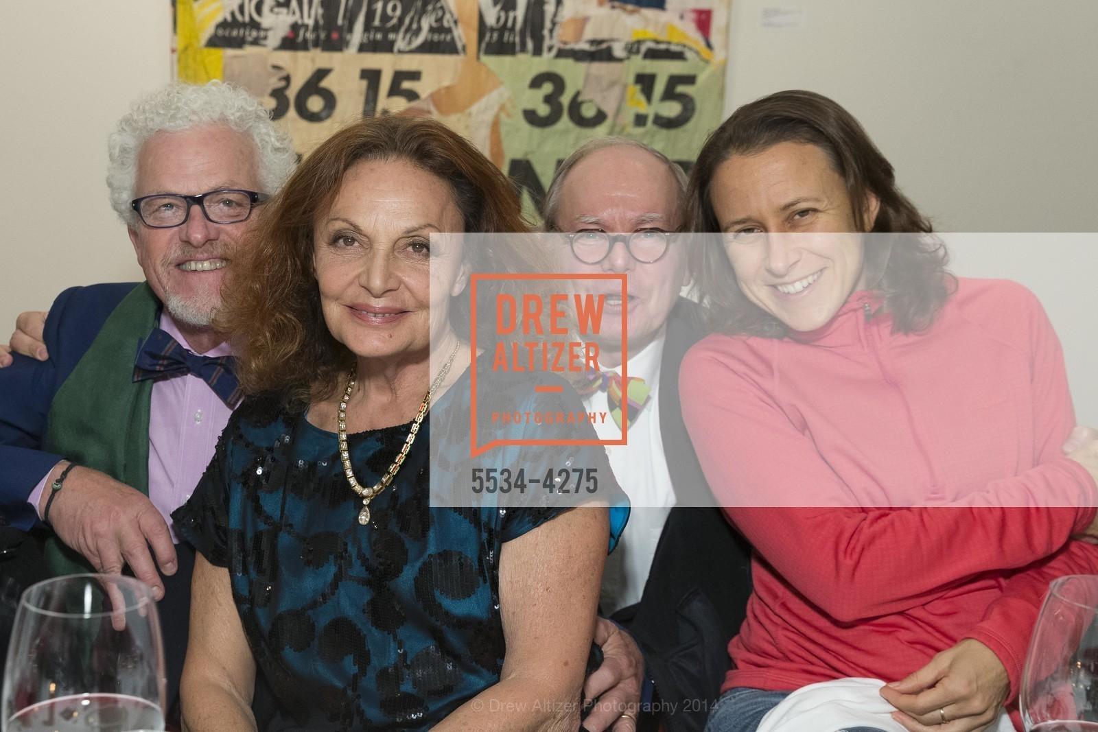 Lee Hudson, Diane von Furstenberg, Martin Wheeler, Anne Wojcicki, Photo #5534-4275