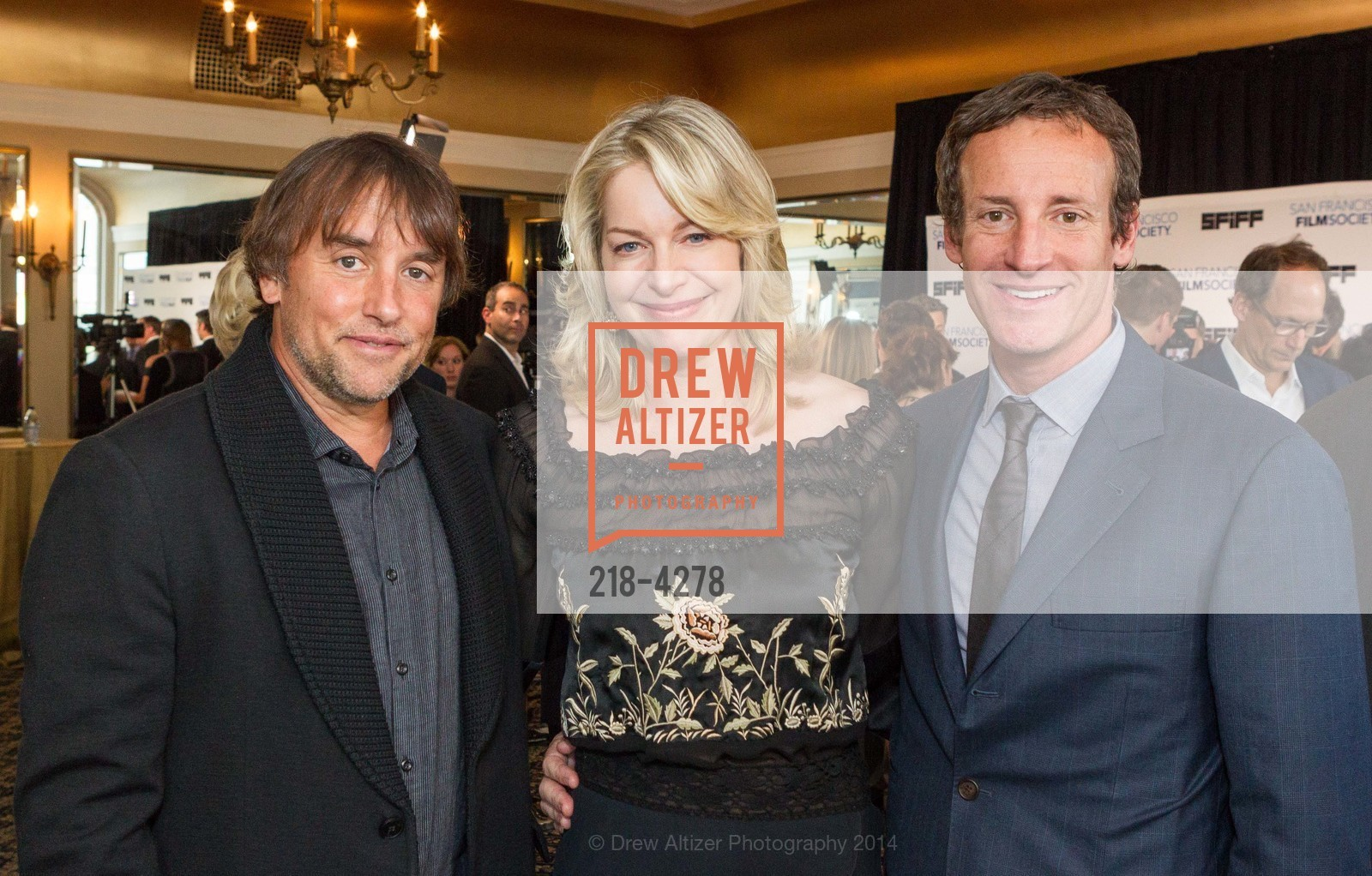 Richard Linklater, Victoria Linklater, Todd Traina, Photo #218-4278