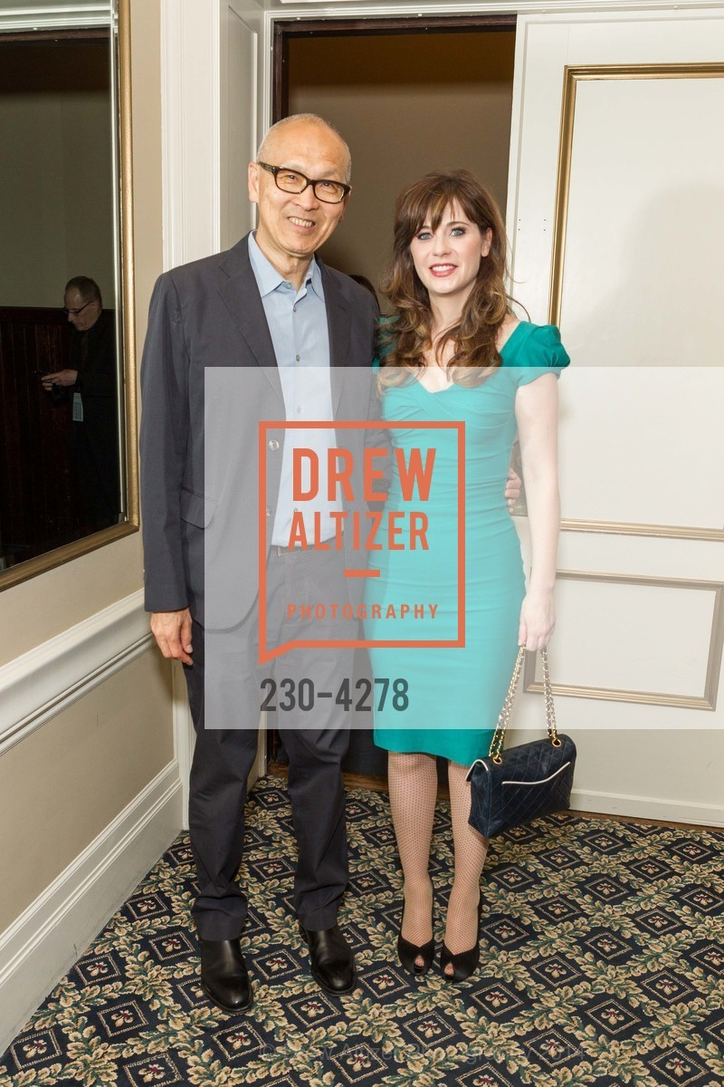 Wayne Wang, Zooey Deschanel, Photo #230-4278