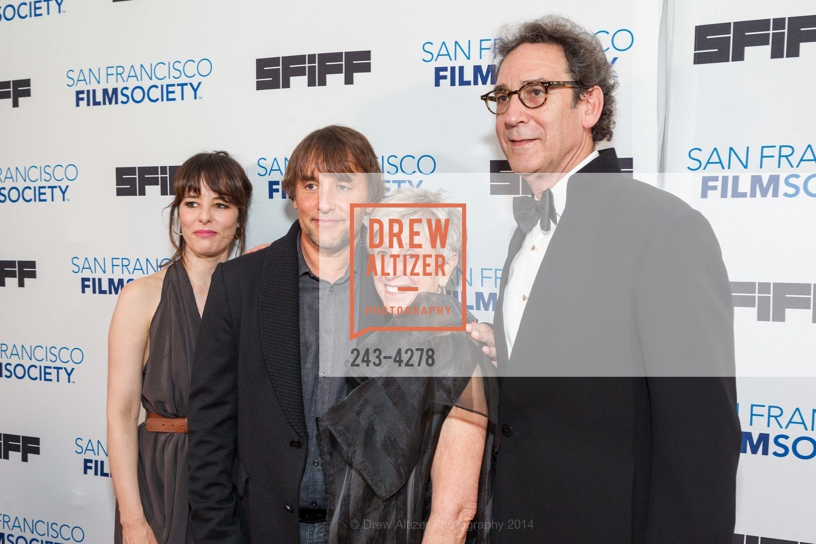 Parker Posey, Richard Linklater, Nancy Livingston, Fred Levin, Photo #243-4278