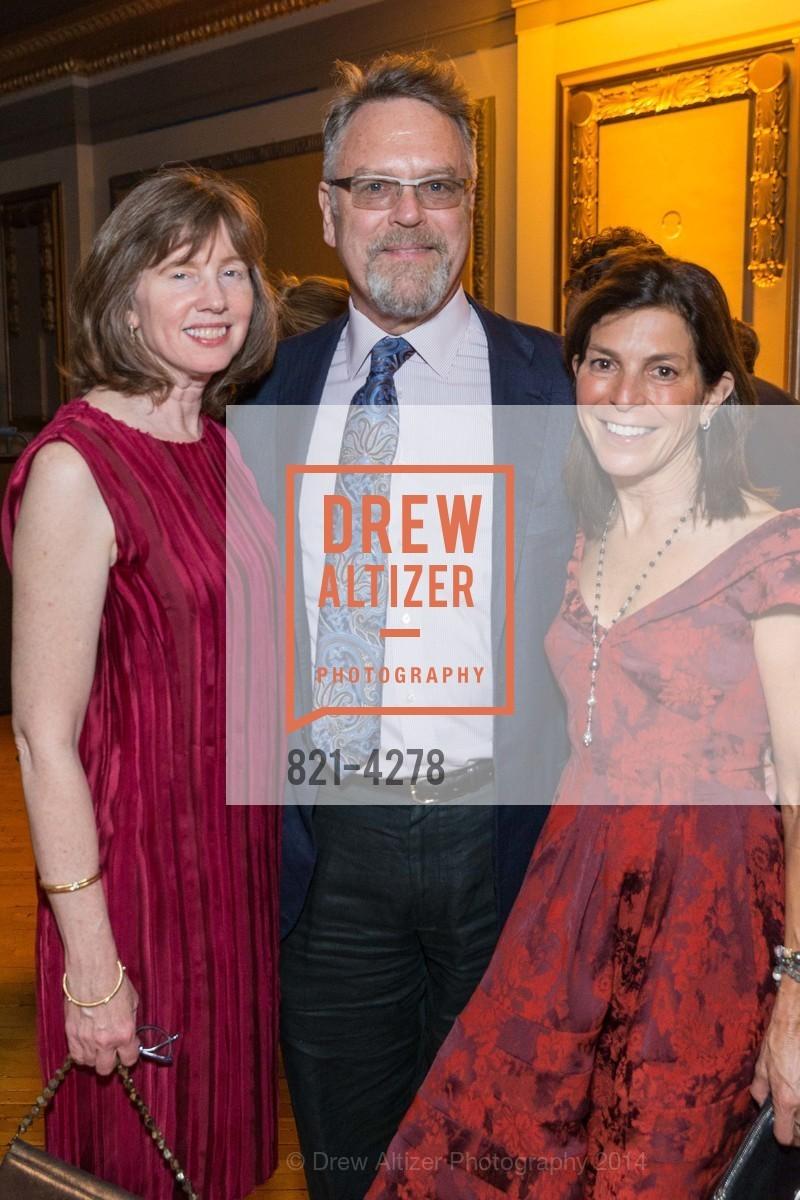 Leslie Berriman, Nion McEvoy, Susan Swig, Photo #821-4278