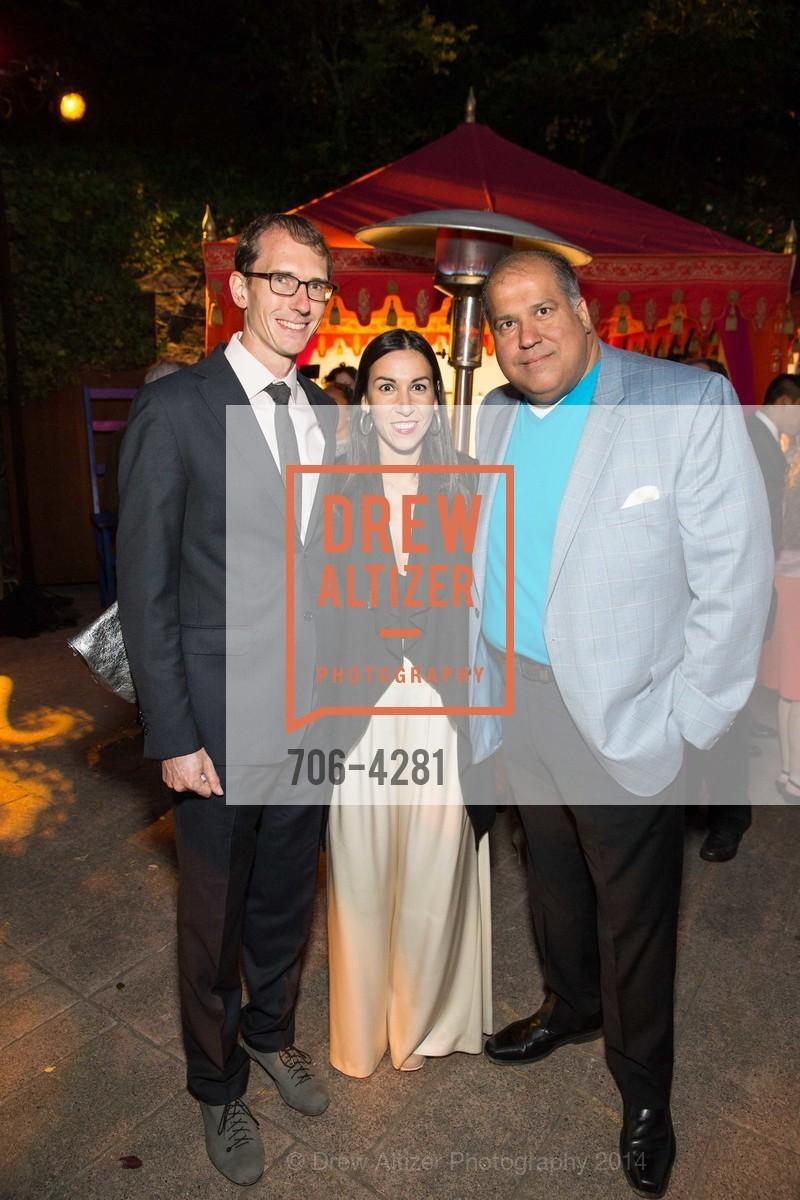 Dan Zook, Kristina Garza, Dinesh Chandiramani, Photo #706-4281