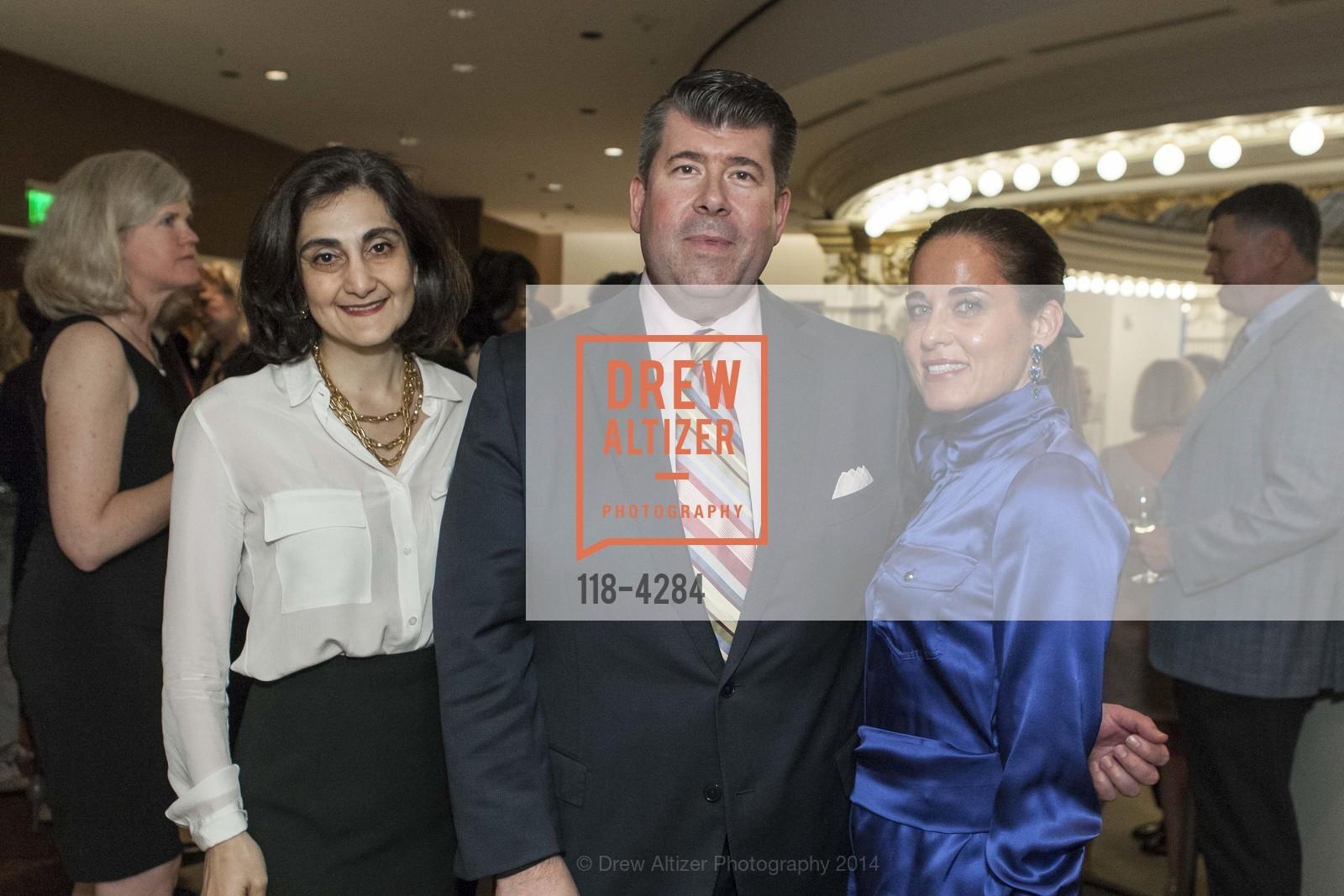 Fati Farmanfarmaian, Alan Morrell, Natalia Urrutia, Photo #118-4284