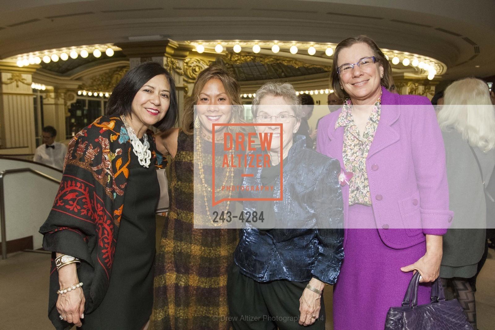 Margo Maxey, Virginia Price, Judy Anderson, Carolyn Koenig, Photo #243-4284