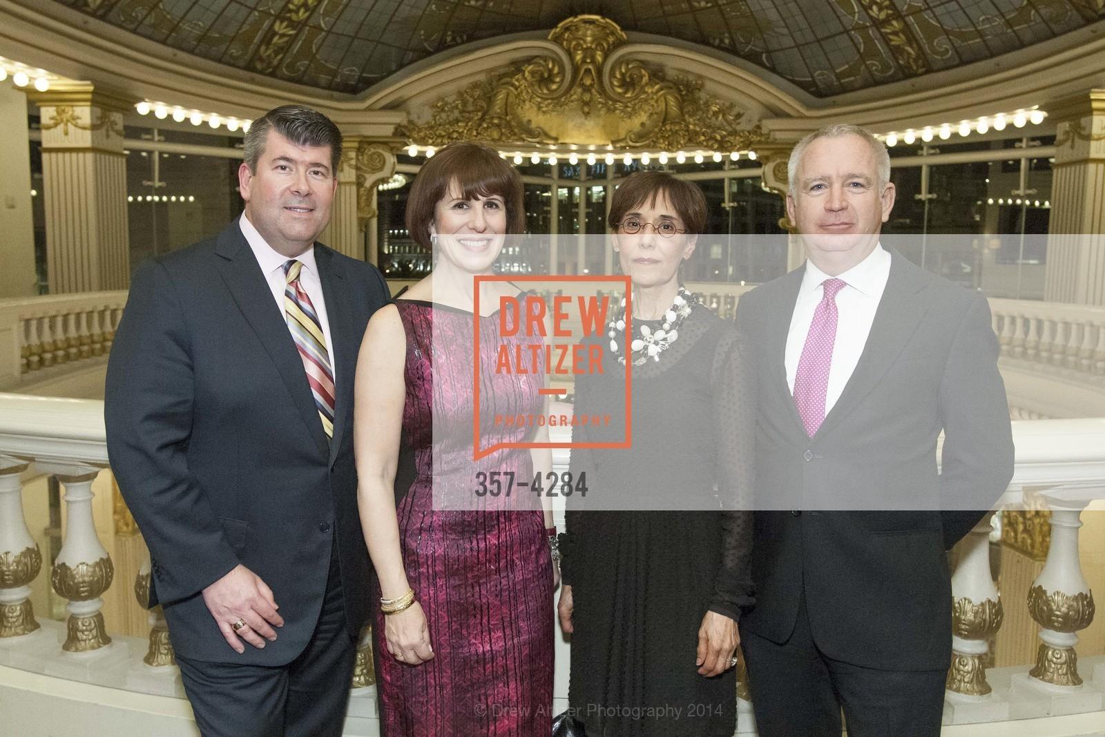 Alan Morrell, Terri Mino, Beatrice Wood, Glenn McCoy, Photo #357-4284