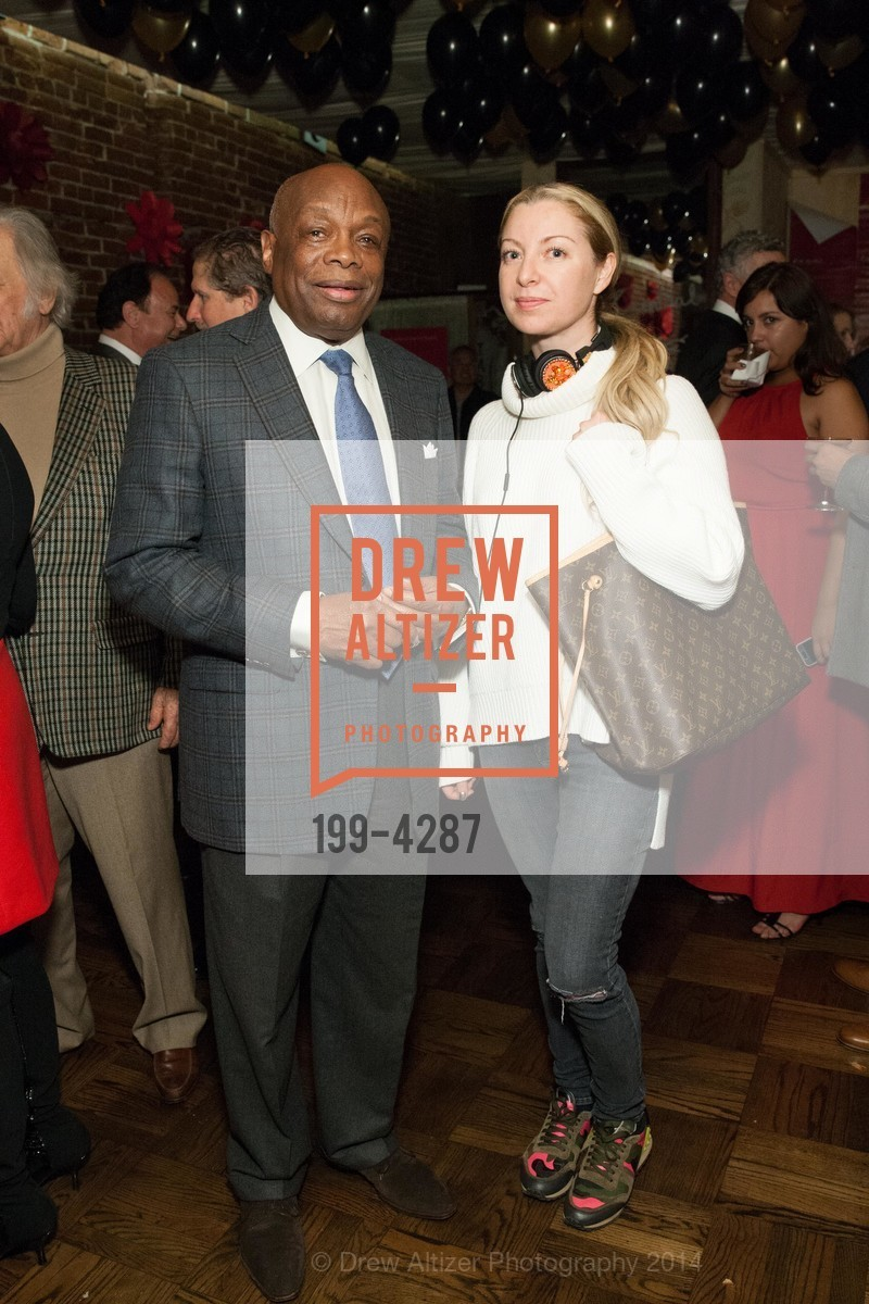 Willie Brown, Sonya Molodetskaya, Photo #199-4287