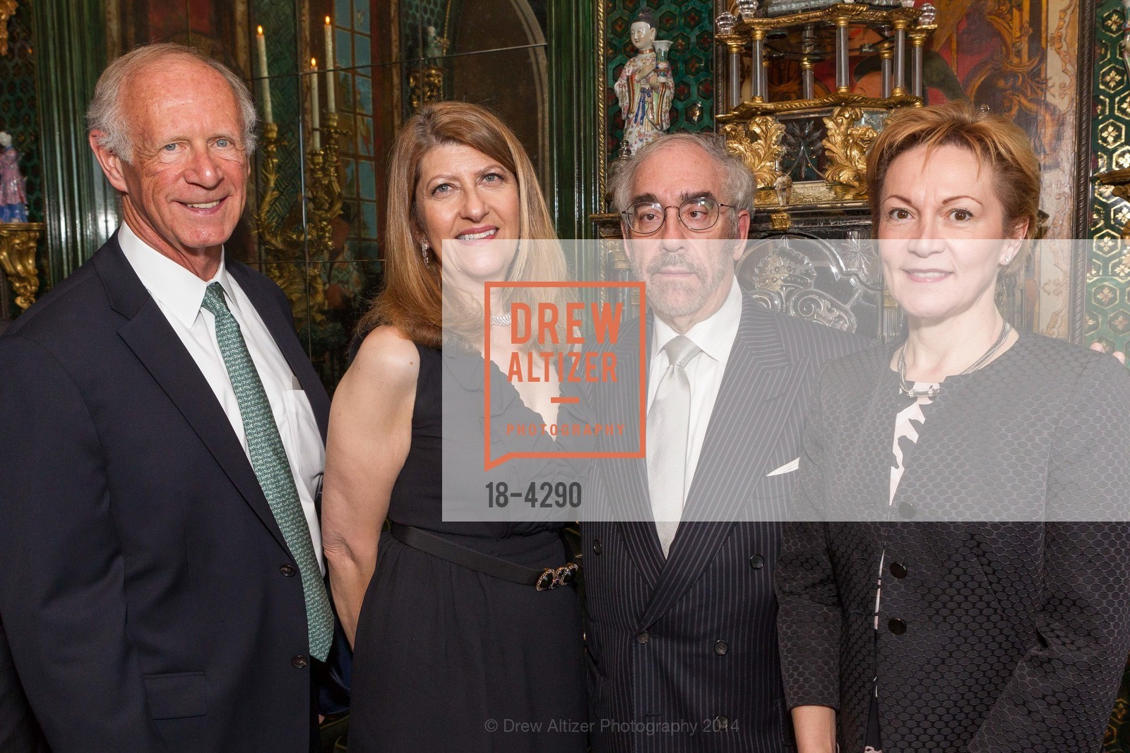 John Gambs, Emely Weissman, Ron Weissman, Beatrice Gomory, Photo #18-4290