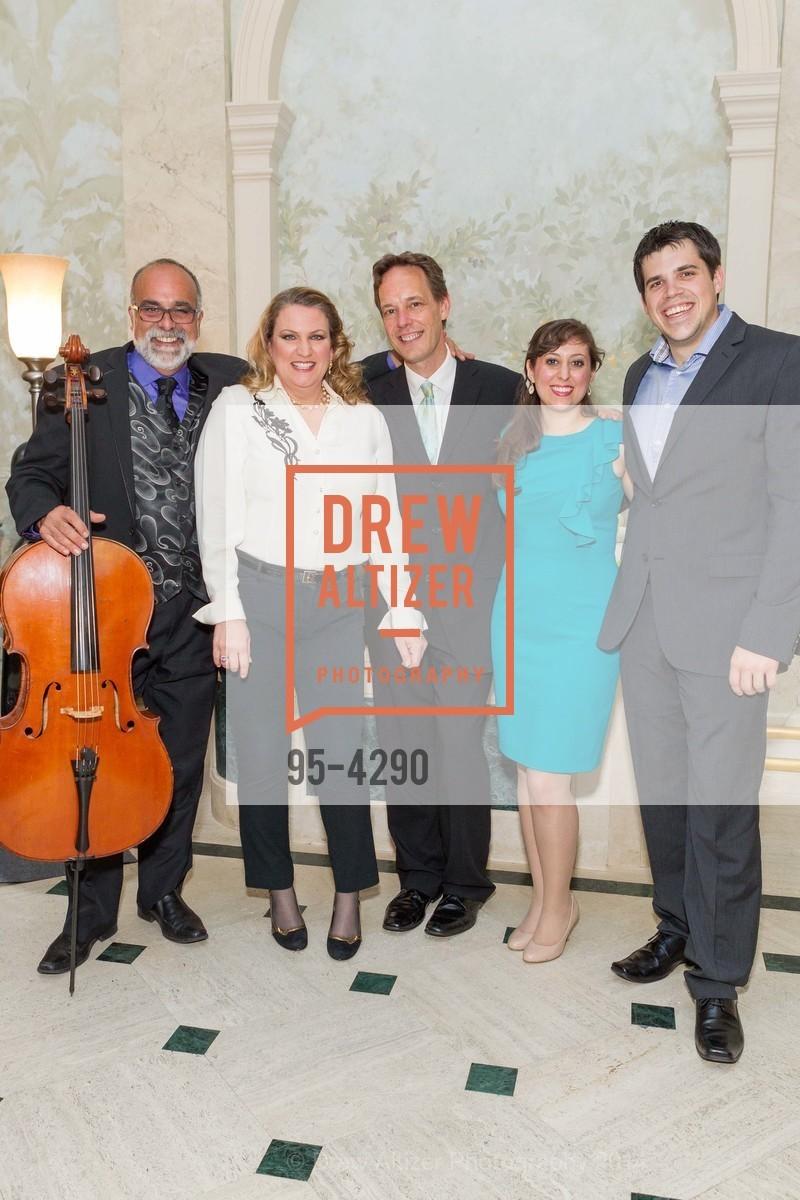 Emil Miland, Kristin Clayton, Jake Heggie, Elena Galvan, Daniel Bates, Photo #95-4290