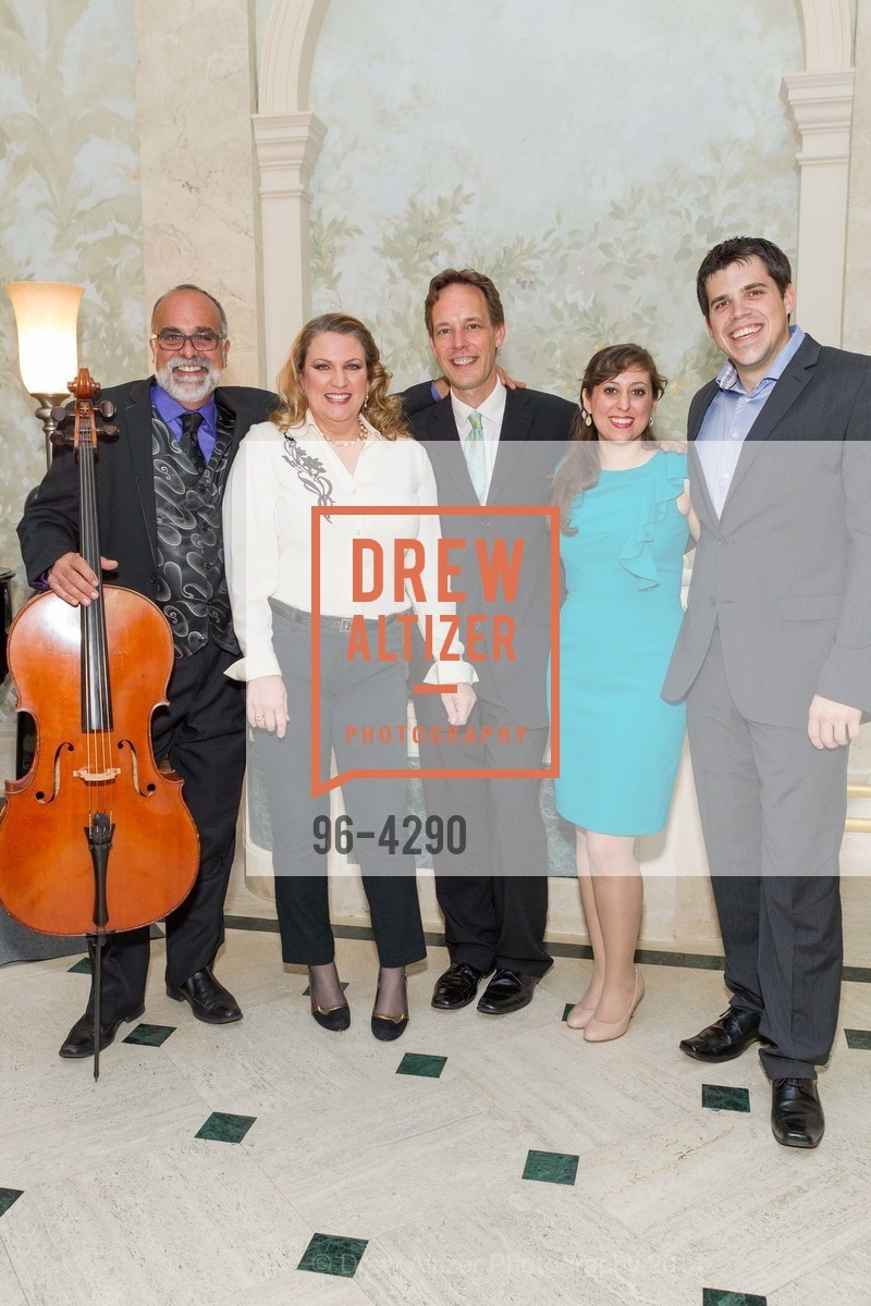 Emil Miland, Kristin Clayton, Jake Heggie, Elena Galvan, Daniel Bates, Photo #96-4290