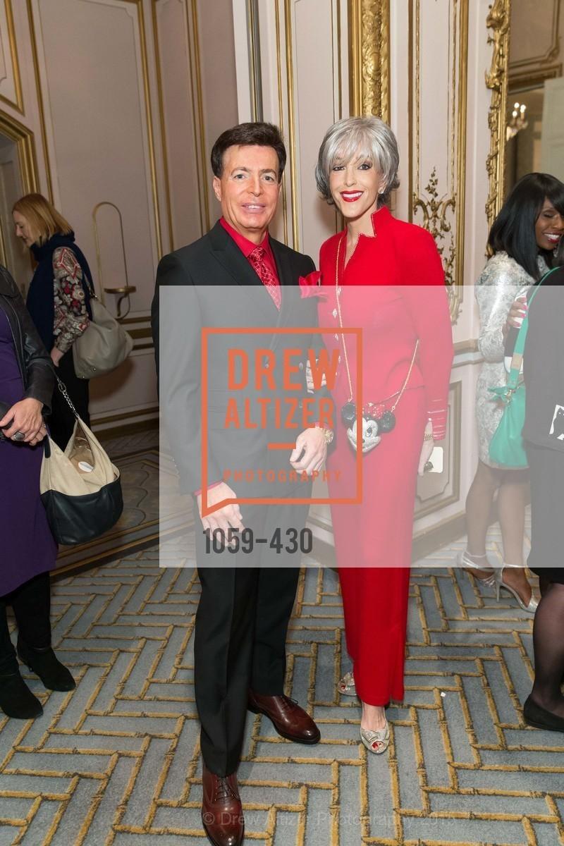 Jeff Brunetti, Tipper Lynne, The Arthritis Foundation Presents FASHION FIGHTS ARTHRITIS featuring St. John, Fairmont Hotel, Ballroom. 950 Mason Street, October 30th, 2015