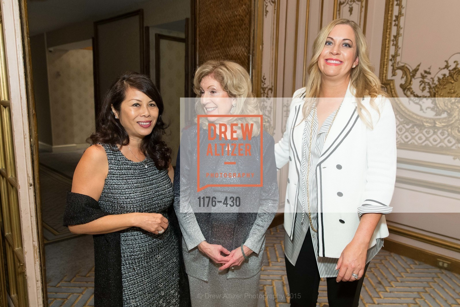 Sharon Seto, Celeste Woo, Maggie Hazelrig, The Arthritis Foundation Presents FASHION FIGHTS ARTHRITIS featuring St. John, Fairmont Hotel, Ballroom. 950 Mason Street, October 30th, 2015,Drew Altizer, Drew Altizer Photography, full-service agency, private events, San Francisco photographer, photographer california