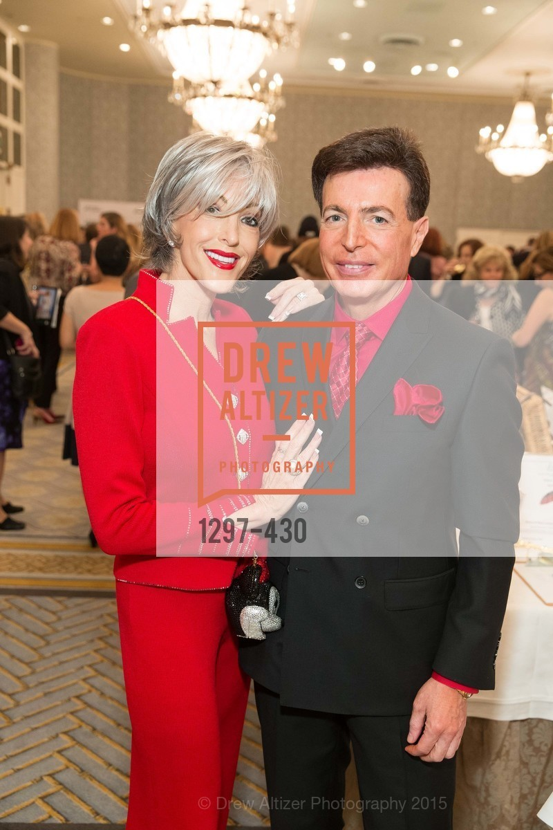 Tipper Lynne, Jeff Brunetti, The Arthritis Foundation Presents FASHION FIGHTS ARTHRITIS featuring St. John, Fairmont Hotel, Ballroom. 950 Mason Street, October 30th, 2015