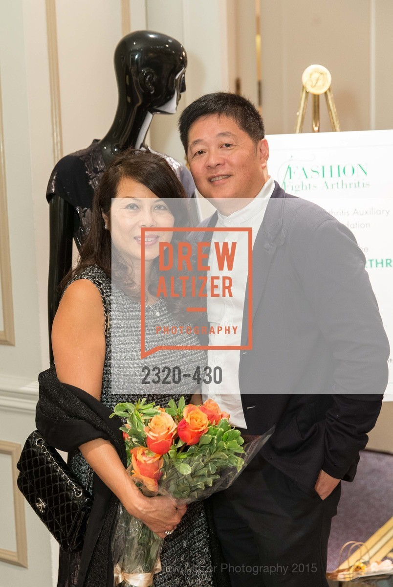 Sharon Seto, David Seto, The Arthritis Foundation Presents FASHION FIGHTS ARTHRITIS featuring St. John, Fairmont Hotel, Ballroom. 950 Mason Street, October 30th, 2015,Drew Altizer, Drew Altizer Photography, full-service agency, private events, San Francisco photographer, photographer california
