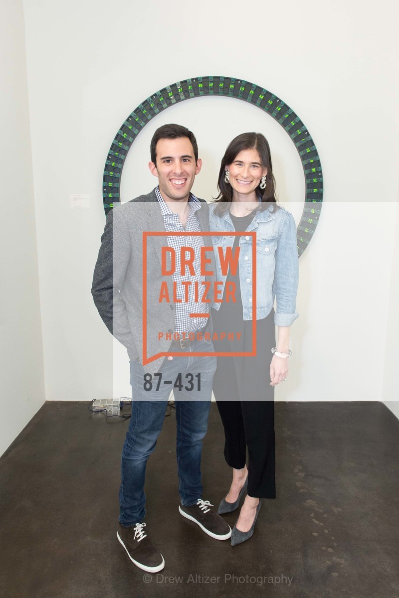 Adam Nelson, Jaclyn Nelson, Artsy + Sotheby's Closing Party, Fused. 1401 16th Street, October 30th, 2015