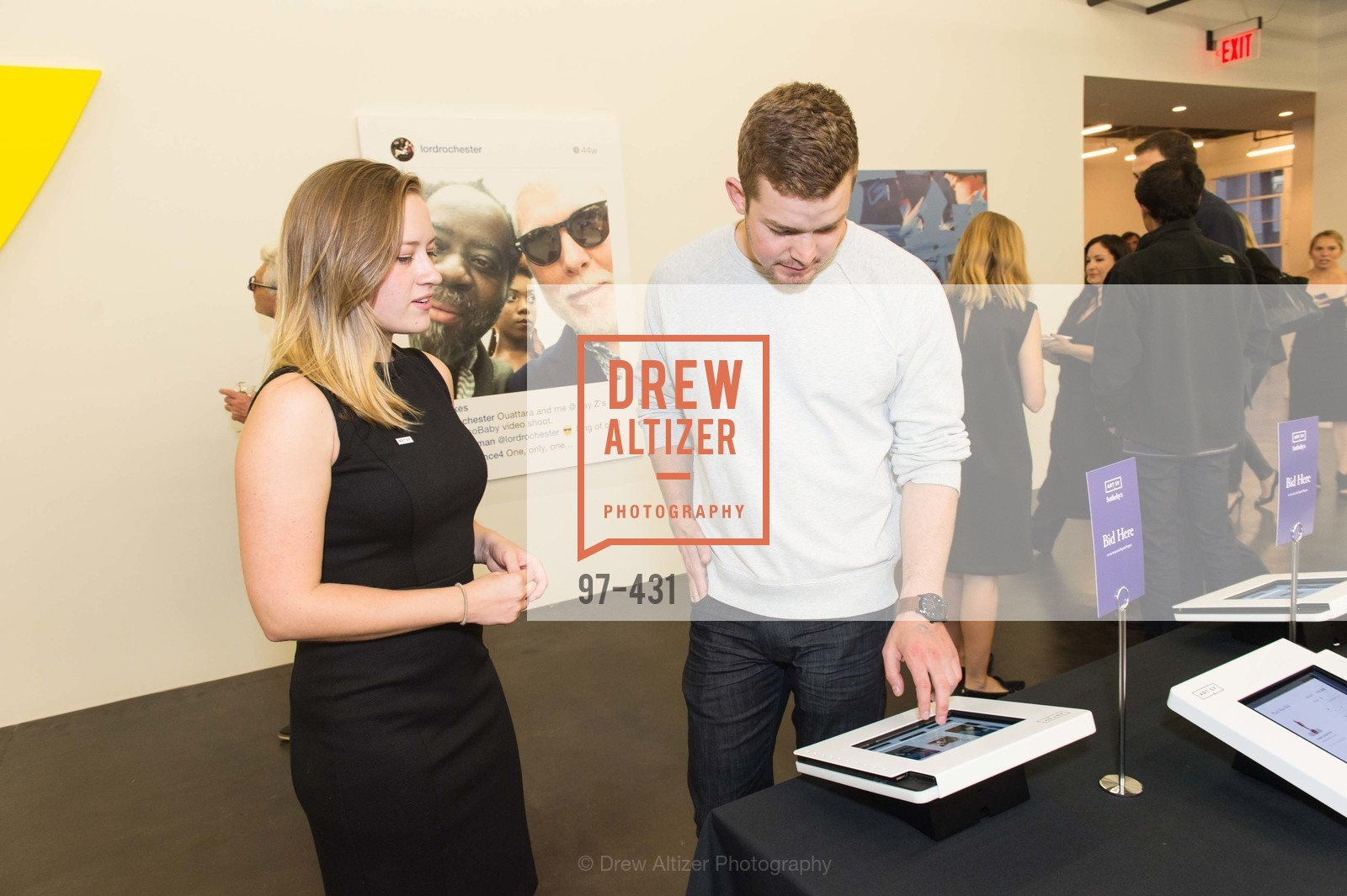 Alessandra Castillo, Ryan Dredin, Artsy + Sotheby's Closing Party, Fused. 1401 16th Street, October 30th, 2015,Drew Altizer, Drew Altizer Photography, full-service event agency, private events, San Francisco photographer, photographer California