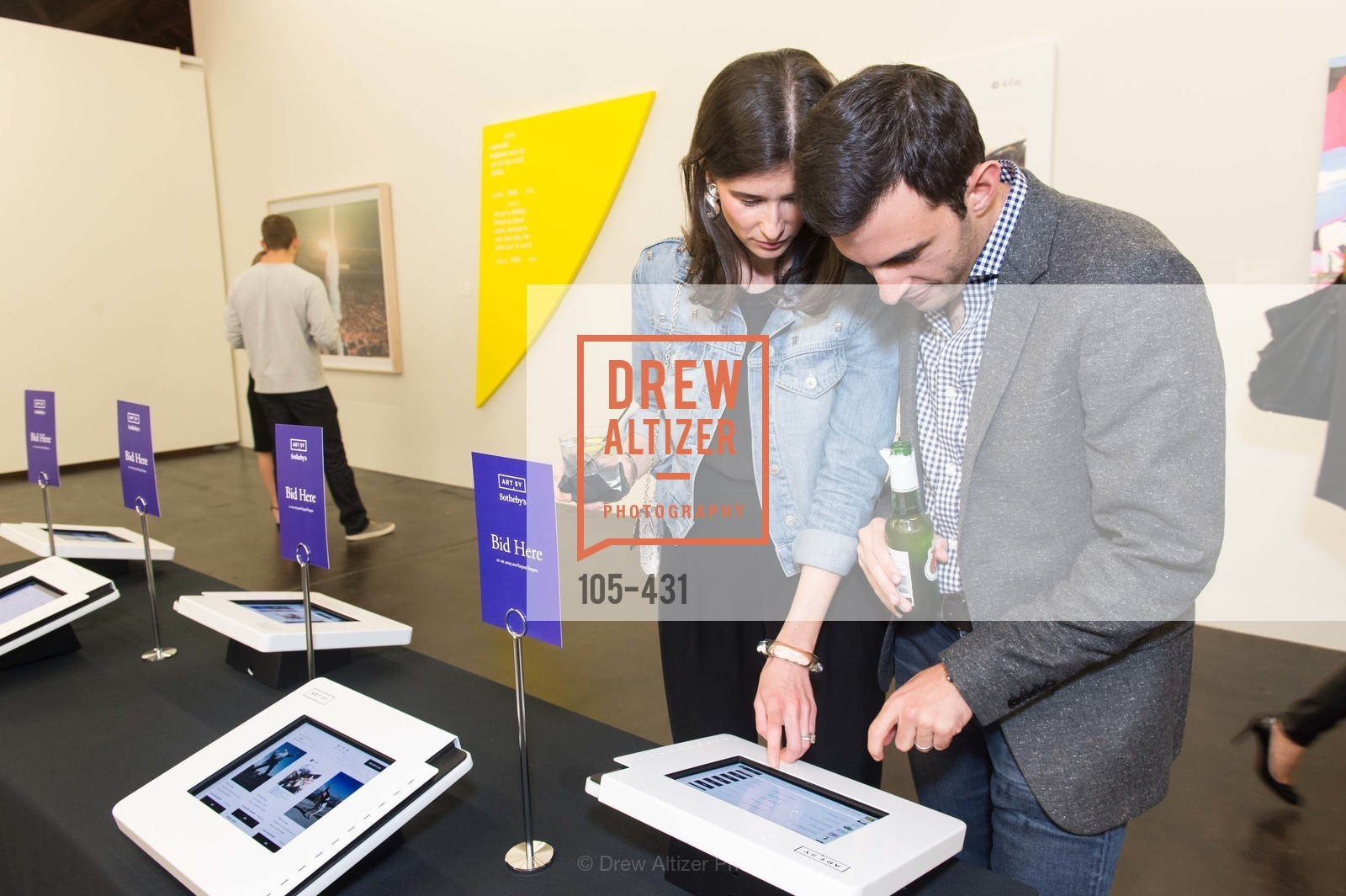 Jaclyn Nelson, Adam Nelson, Artsy + Sotheby's Closing Party, Fused. 1401 16th Street, October 30th, 2015,Drew Altizer, Drew Altizer Photography, full-service agency, private events, San Francisco photographer, photographer california