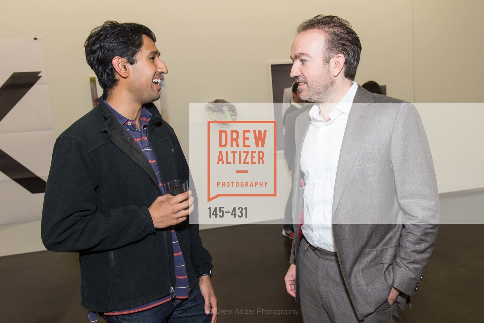Nikhil Basu Trivedi, Sebastian Cwilich, Artsy + Sotheby's Closing Party, Fused. 1401 16th Street, October 30th, 2015,Drew Altizer, Drew Altizer Photography, full-service agency, private events, San Francisco photographer, photographer california