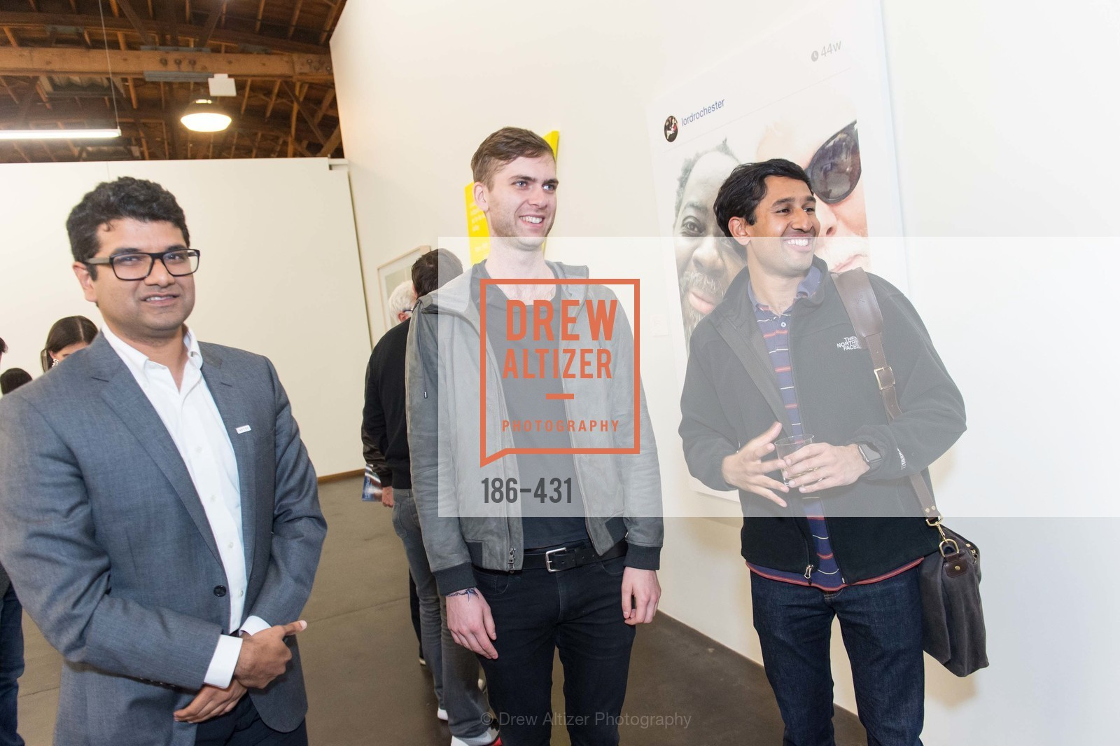 Devang Thakkar, Carter Cleveland, Nikhil Basu Trivedi, Artsy + Sotheby's Closing Party, Fused. 1401 16th Street, October 30th, 2015,Drew Altizer, Drew Altizer Photography, full-service agency, private events, San Francisco photographer, photographer california