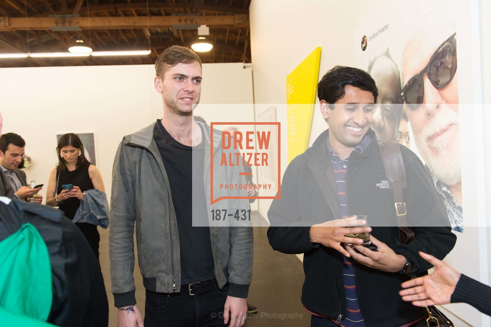 Carter Cleveland, Nikhil Basu Trivedi, Artsy + Sotheby's Closing Party, Fused. 1401 16th Street, October 30th, 2015,Drew Altizer, Drew Altizer Photography, full-service agency, private events, San Francisco photographer, photographer california