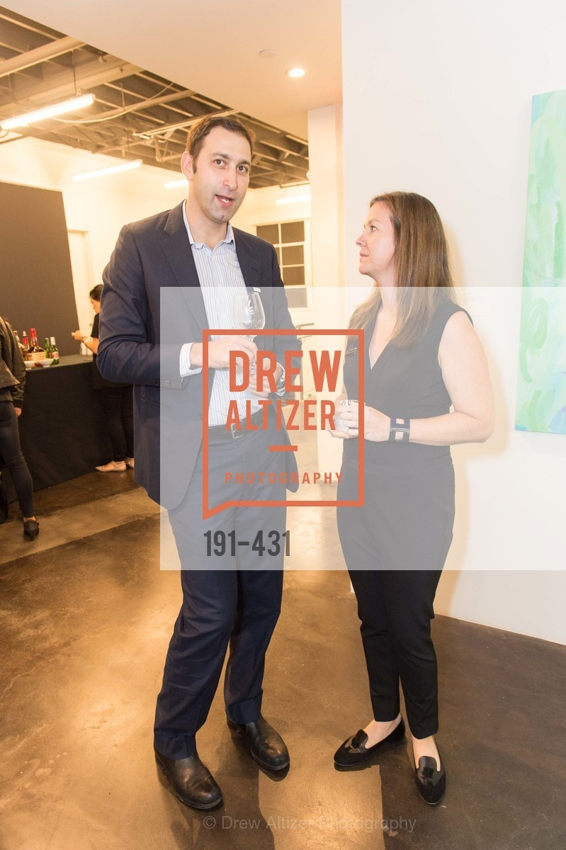 Daniel Doubrovkine, Sarah Shepard, Artsy + Sotheby's Closing Party, Fused. 1401 16th Street, October 30th, 2015,Drew Altizer, Drew Altizer Photography, full-service agency, private events, San Francisco photographer, photographer california