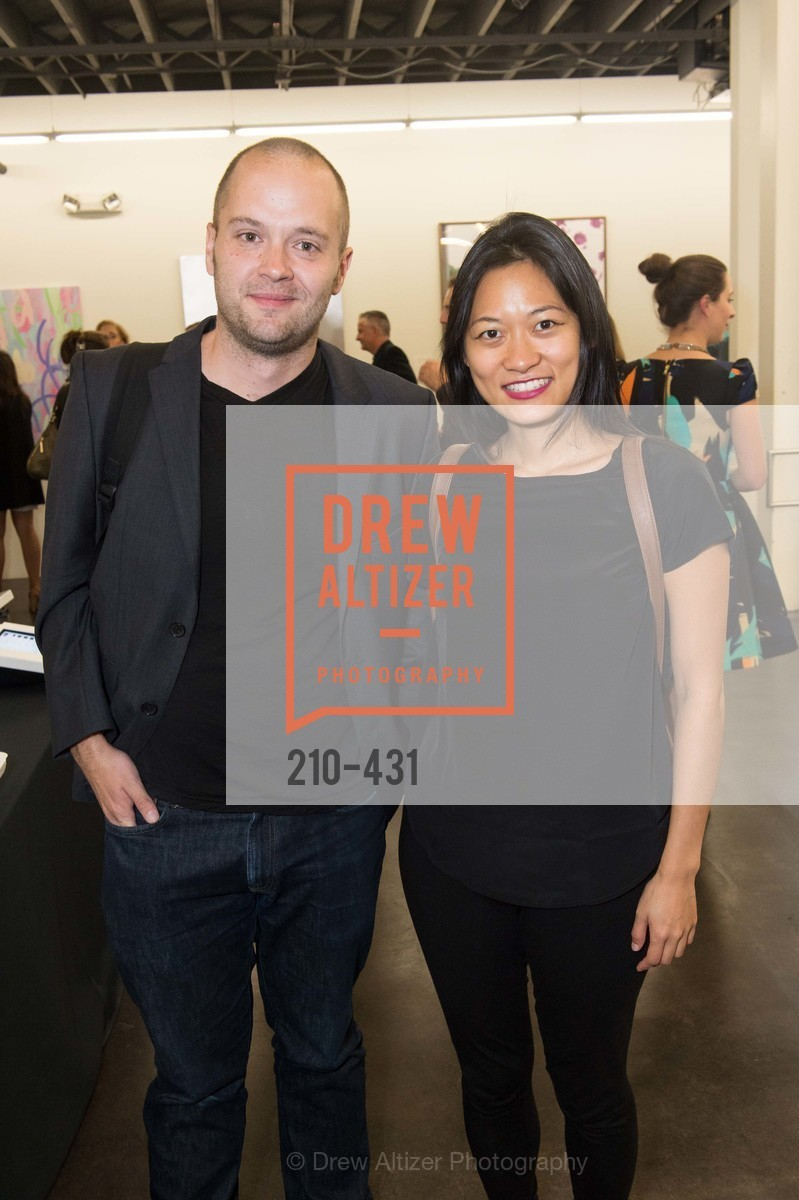 Jeremiah Rogers, Jane Chial, Artsy + Sotheby's Closing Party, Fused. 1401 16th Street, October 30th, 2015,Drew Altizer, Drew Altizer Photography, full-service agency, private events, San Francisco photographer, photographer california