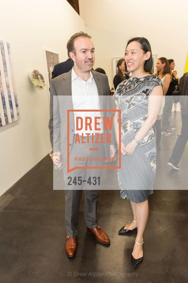 Sebastian Cwilich, Christine Kuan, Artsy + Sotheby's Closing Party, Fused. 1401 16th Street, October 30th, 2015,Drew Altizer, Drew Altizer Photography, full-service agency, private events, San Francisco photographer, photographer california