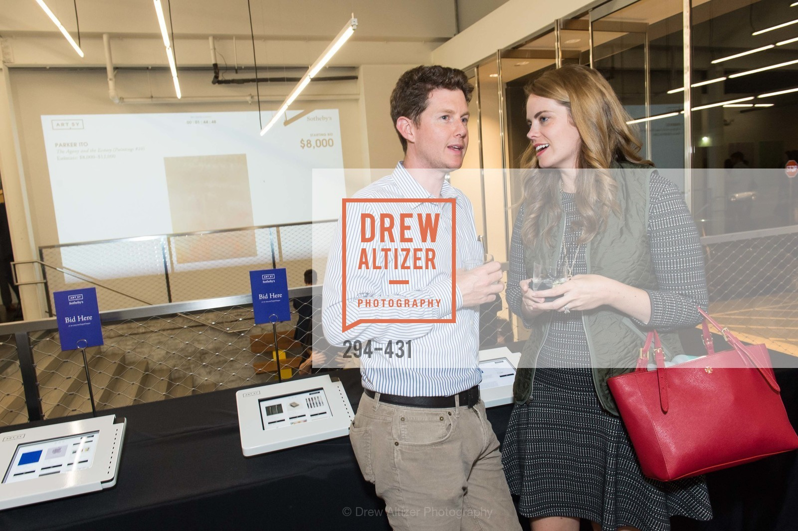 James Houlihan, Sarah Houlihan, Artsy + Sotheby's Closing Party, Fused. 1401 16th Street, October 30th, 2015,Drew Altizer, Drew Altizer Photography, full-service agency, private events, San Francisco photographer, photographer california